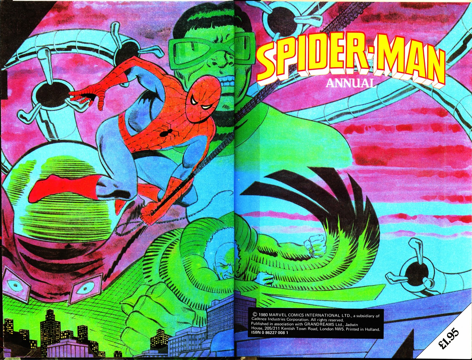 Spider-Man Annual (1974) 1981 Page 2
