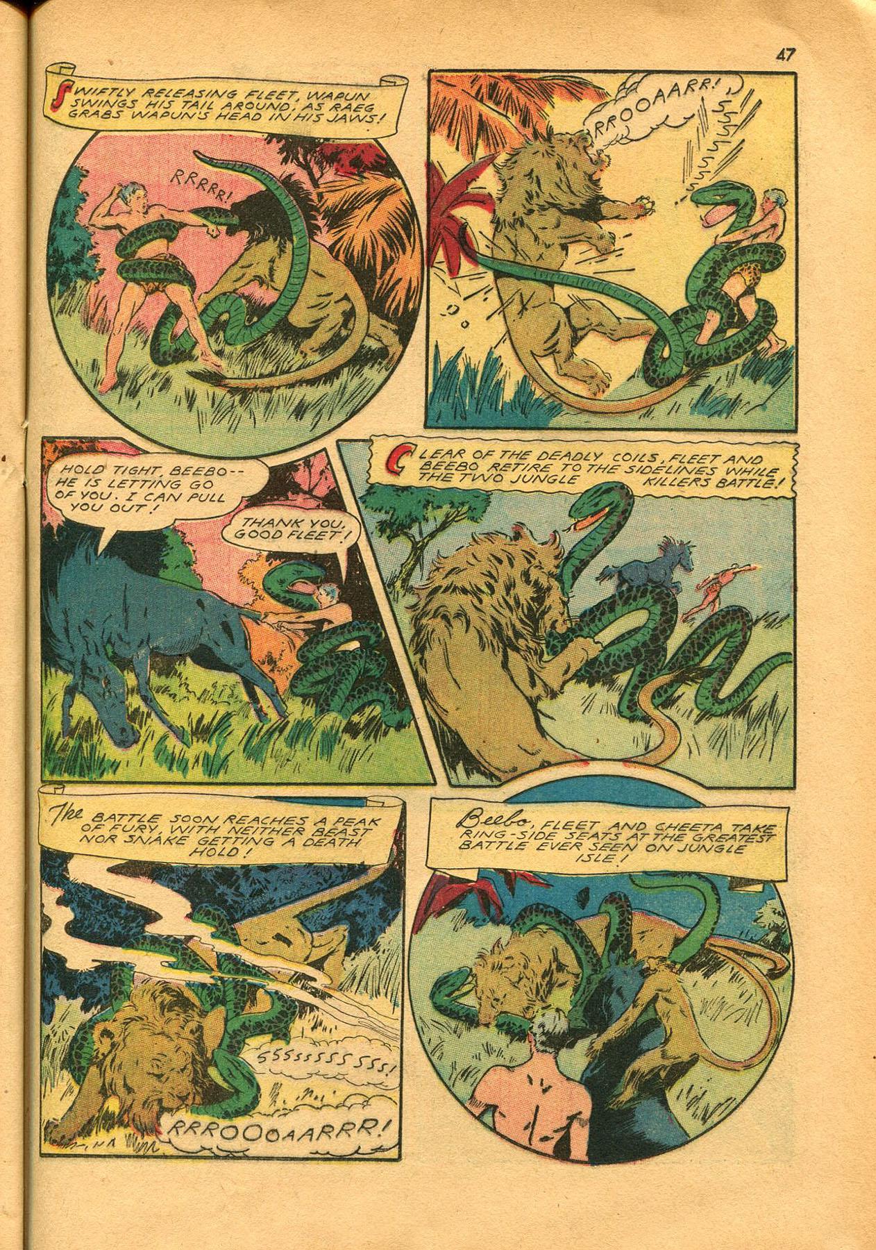 Read online Shadow Comics comic -  Issue #23 - 47