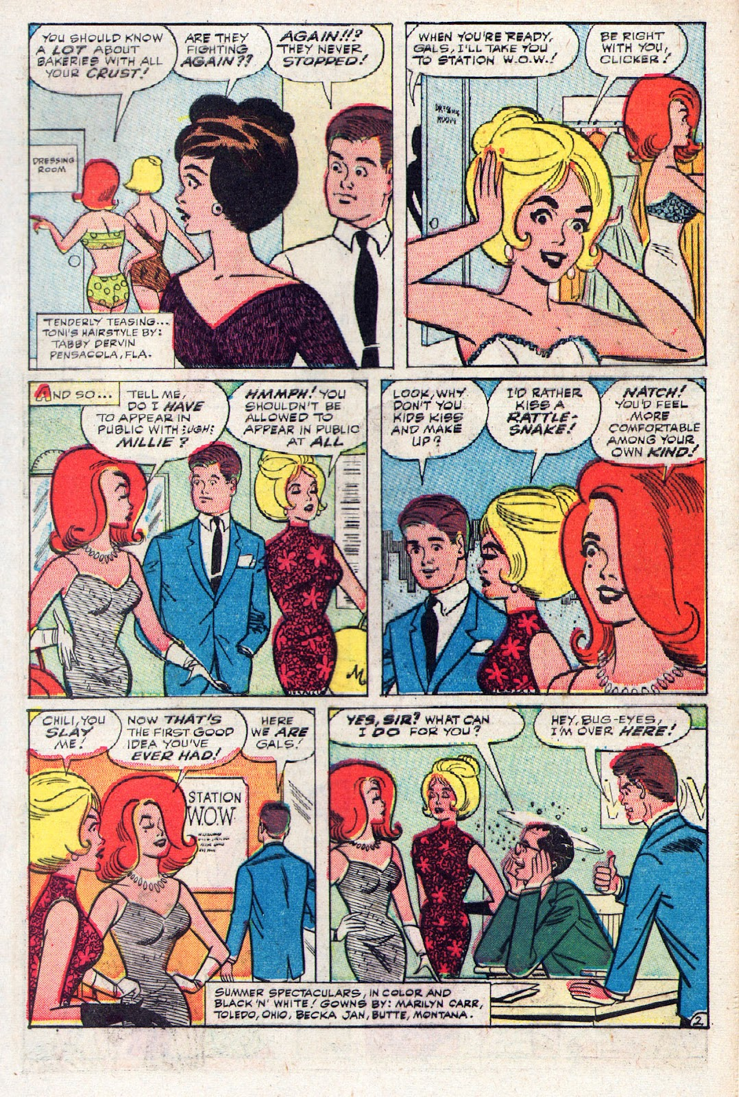 Read online Millie the Model comic -  Issue # Annual 2 - 13