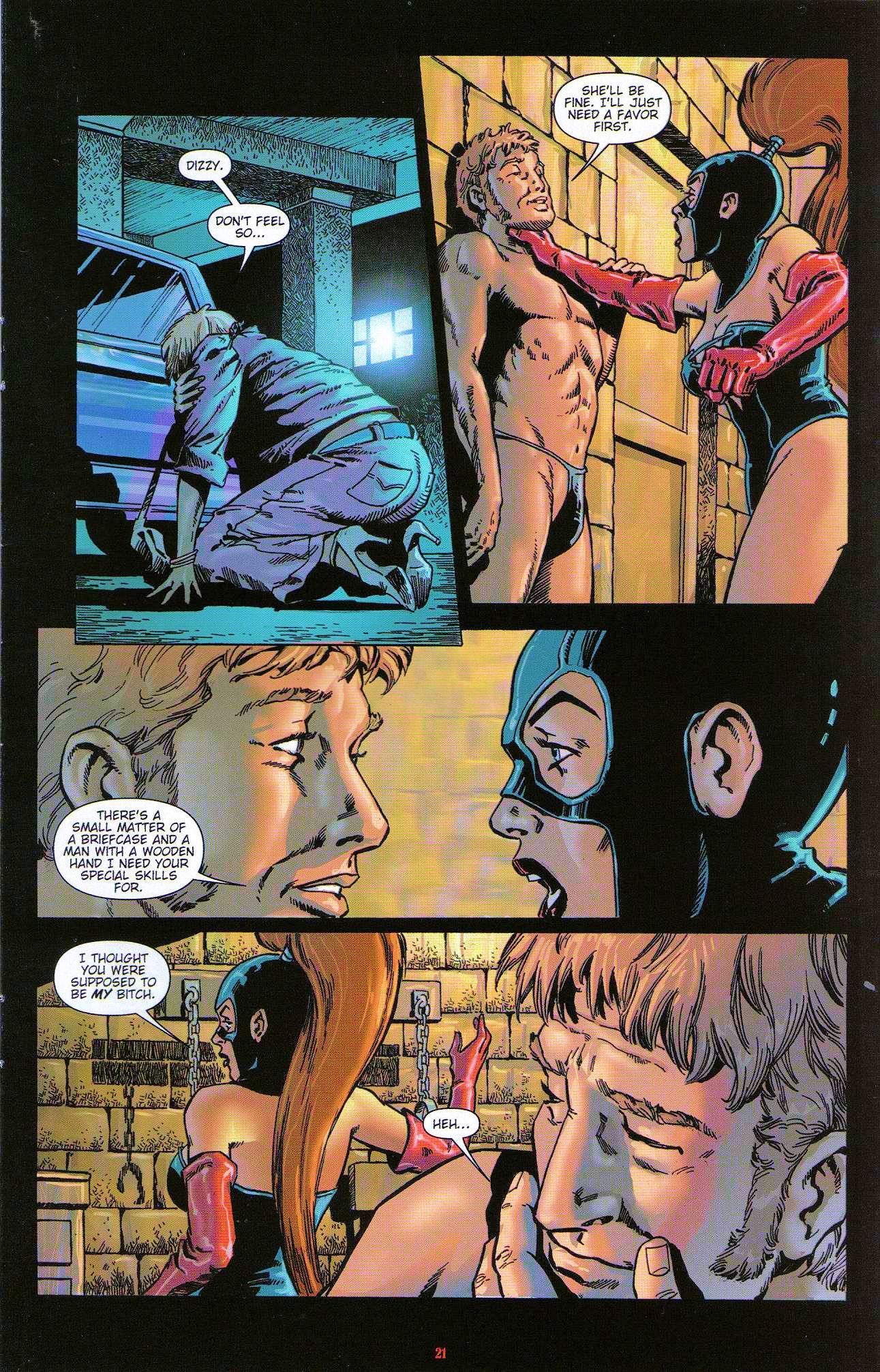 Read online Dominatrix comic -  Issue #3 - 23