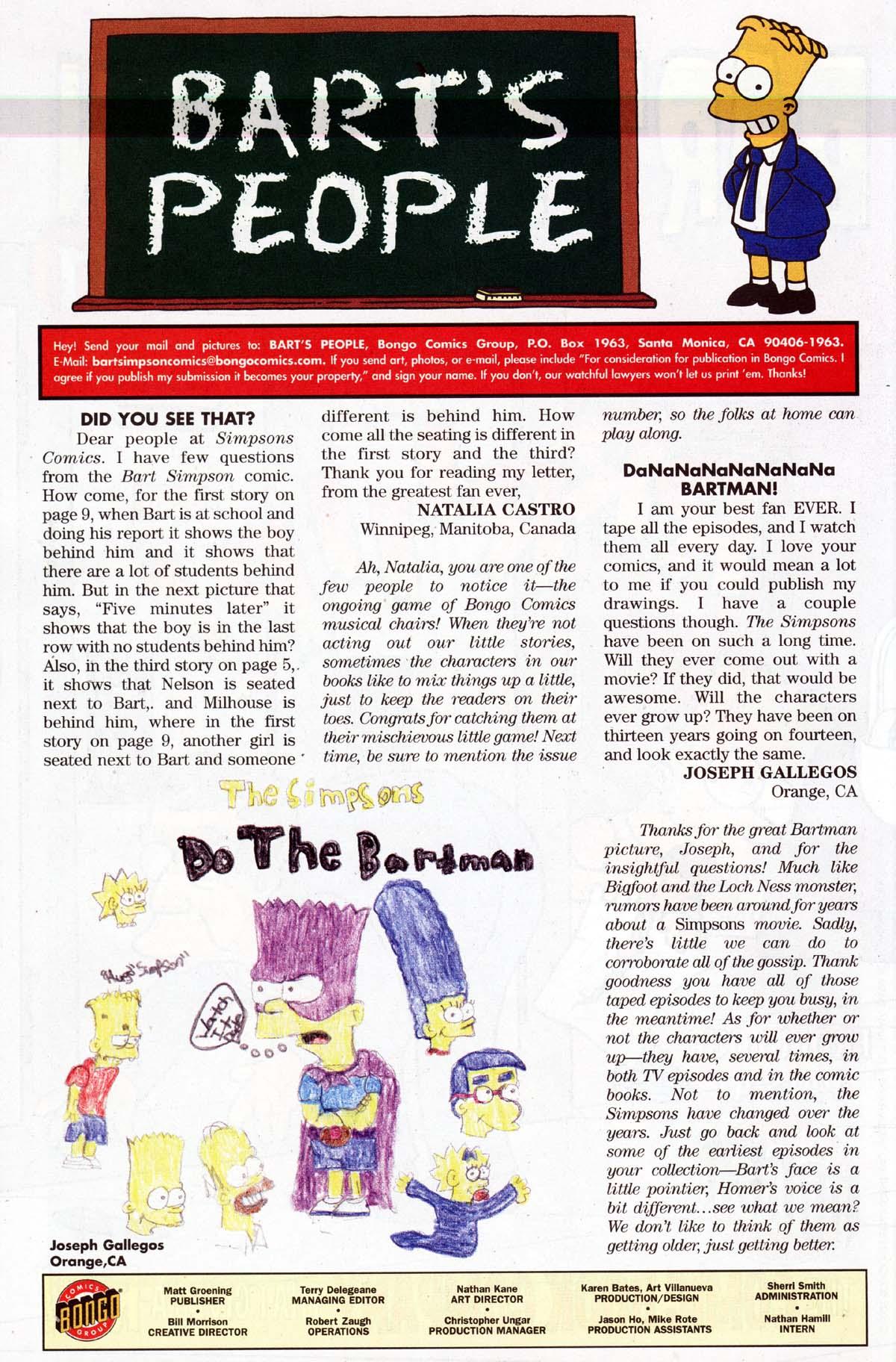 Read online Simpsons Comics Presents Bart Simpson comic -  Issue #10 - 31