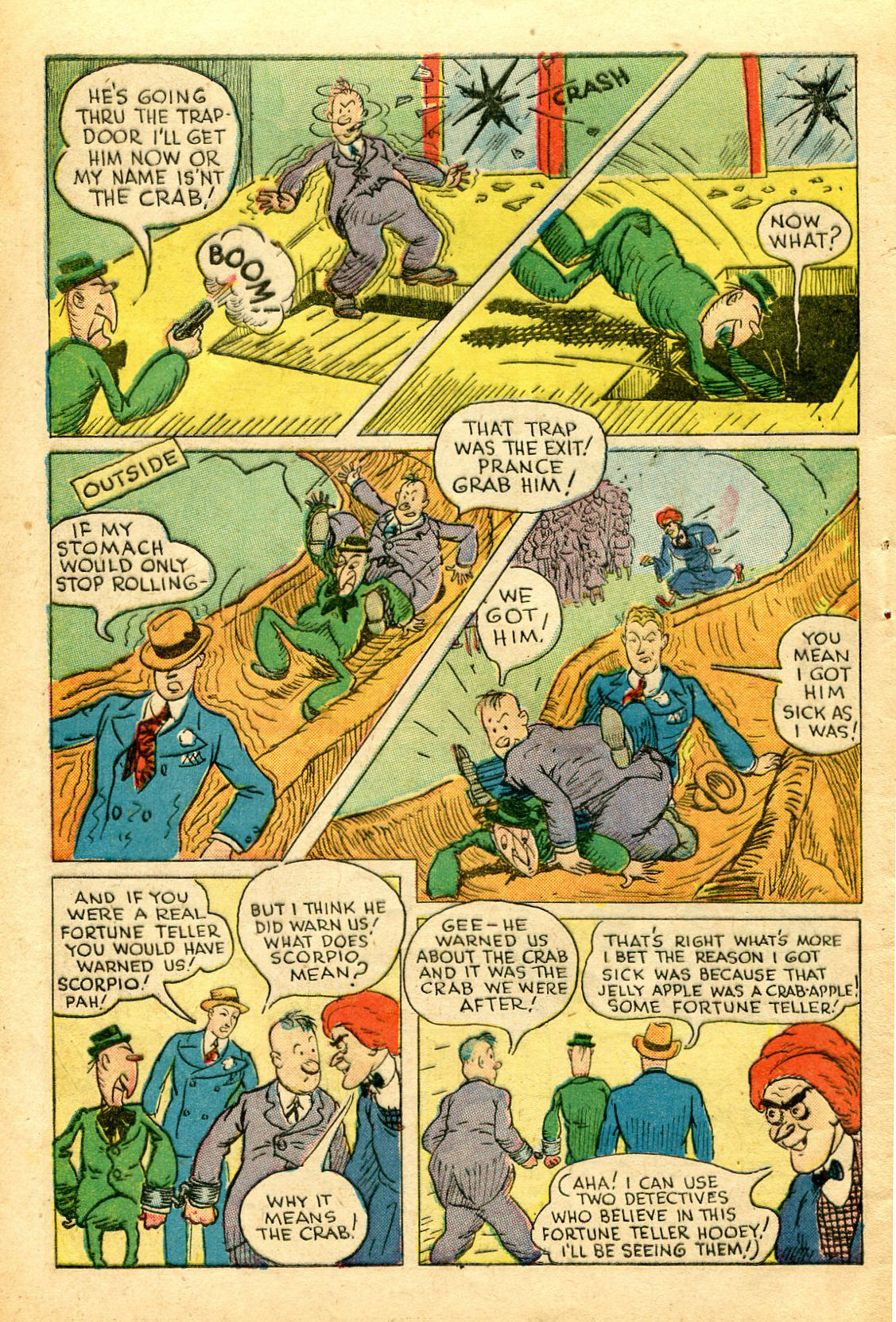 Read online Shadow Comics comic -  Issue #51 - 45