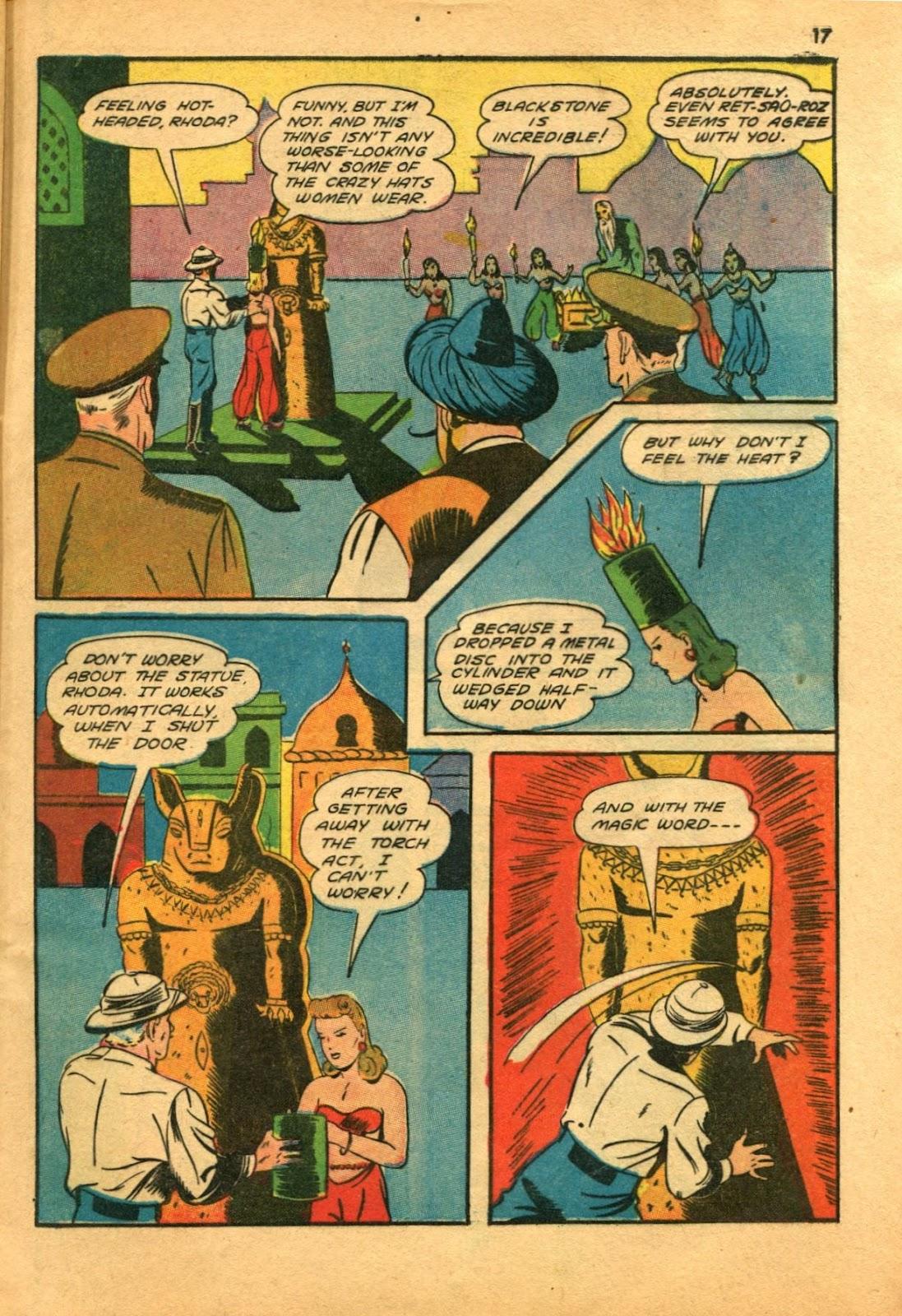Read online Super-Magician Comics comic -  Issue #11 - 17
