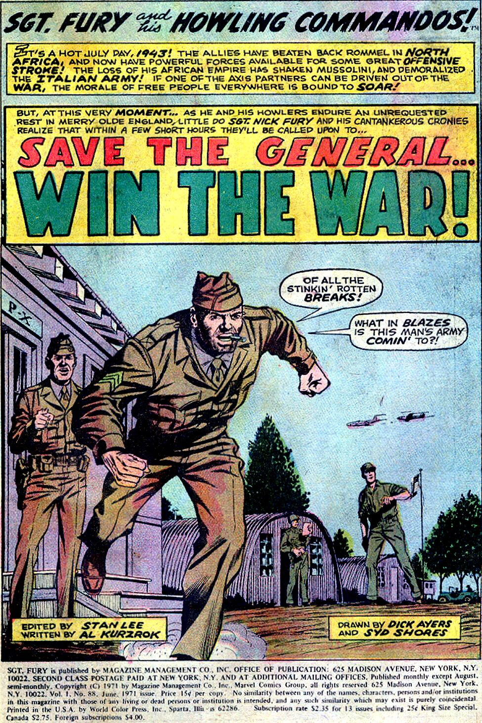 Read online Sgt. Fury comic -  Issue #88 - 3