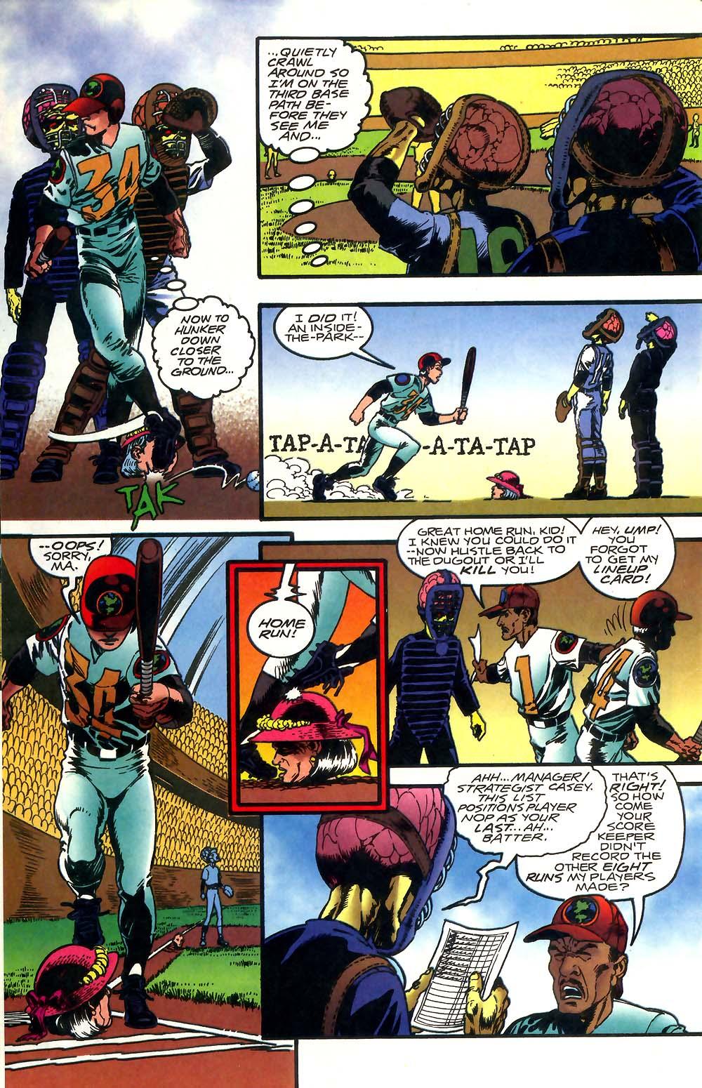Read online Mars Attacks Baseball Special comic -  Issue # Full - 12