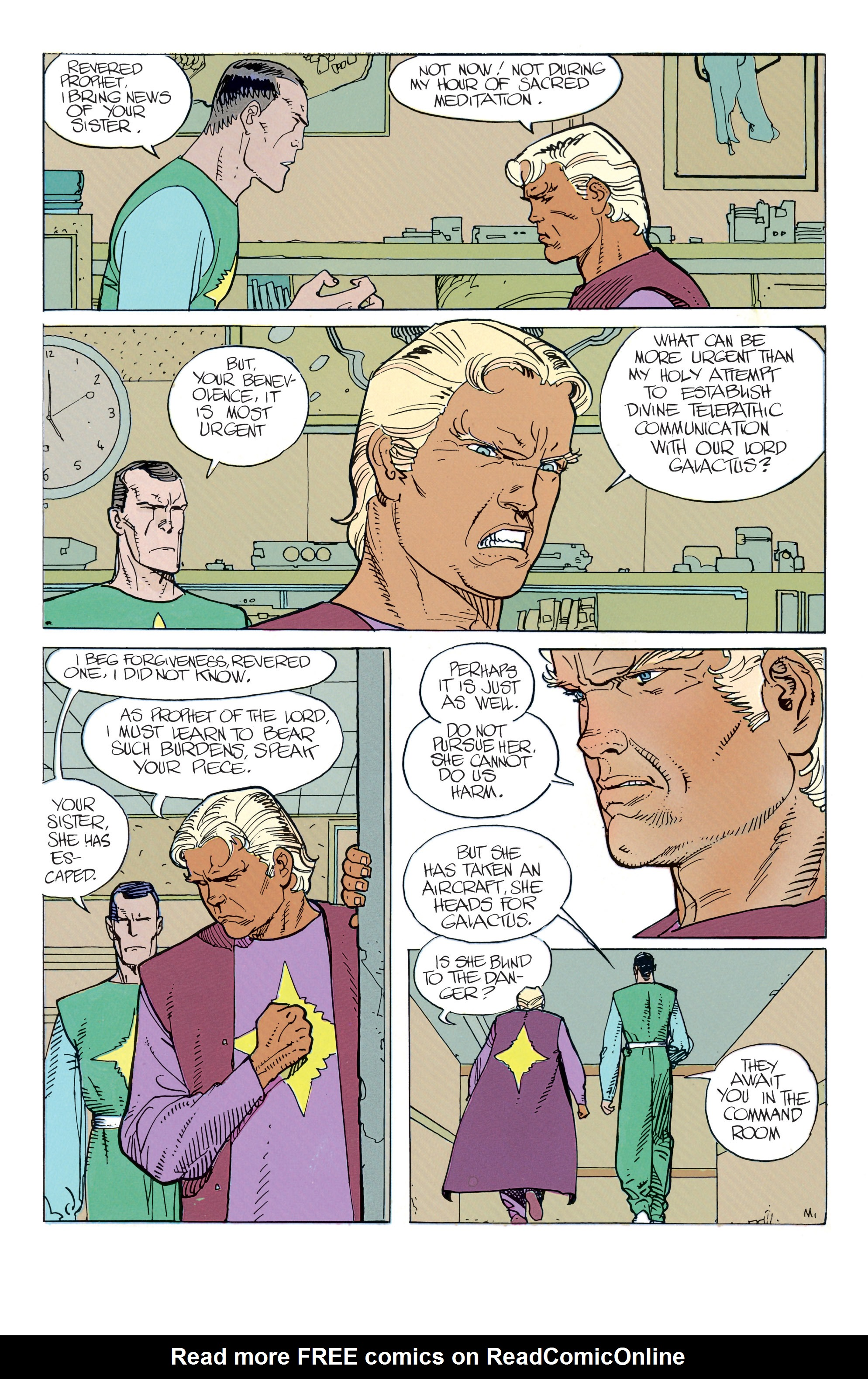 Read online Silver Surfer: Parable comic -  Issue # TPB - 40