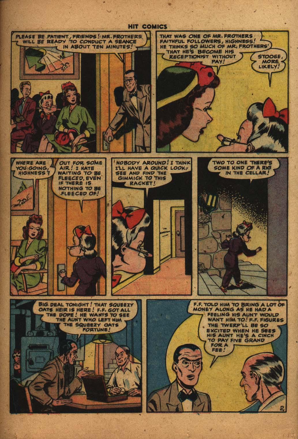 Read online Hit Comics comic -  Issue #47 - 16