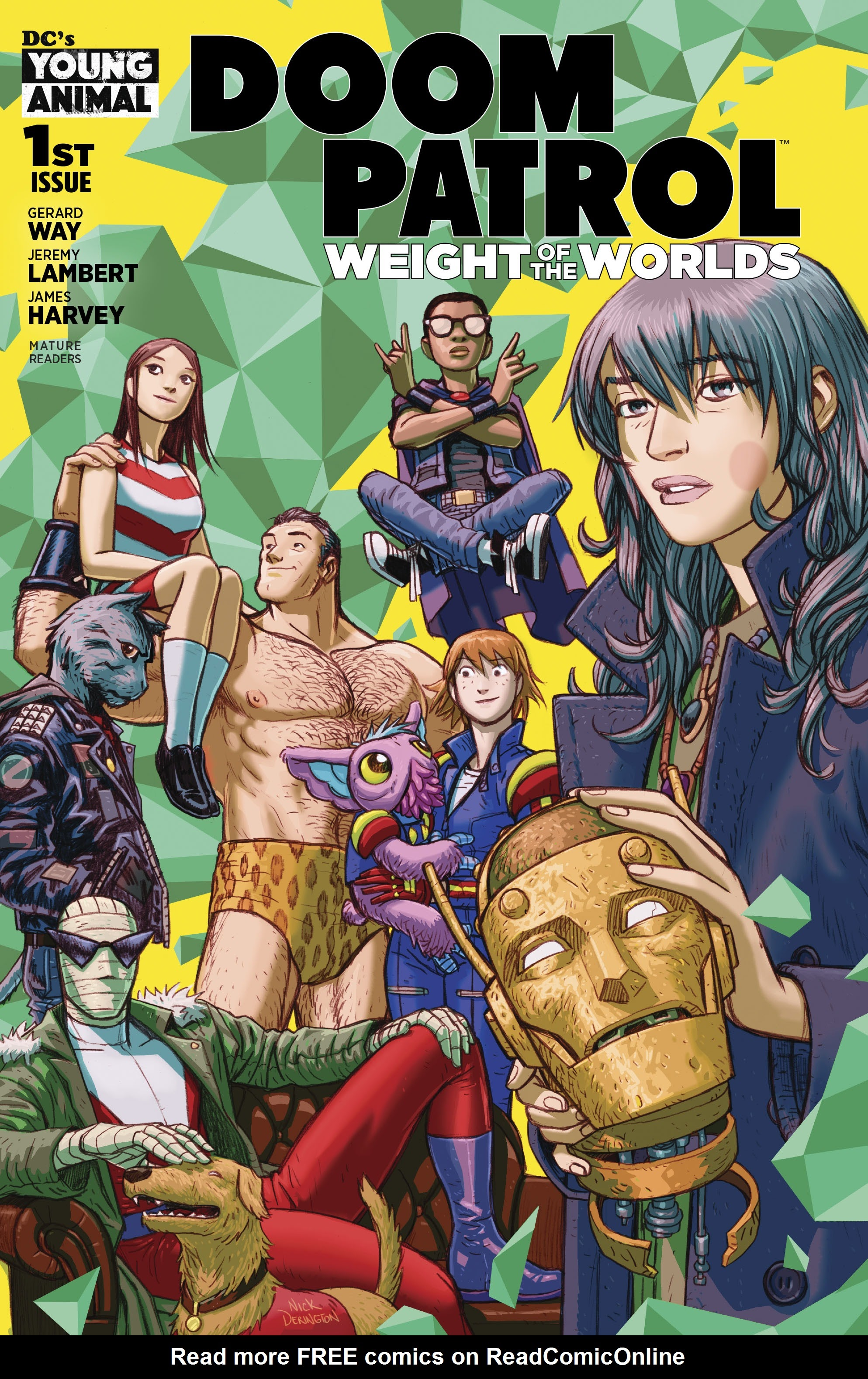 Doom Patrol: Weight of the Worlds 1 Page 1