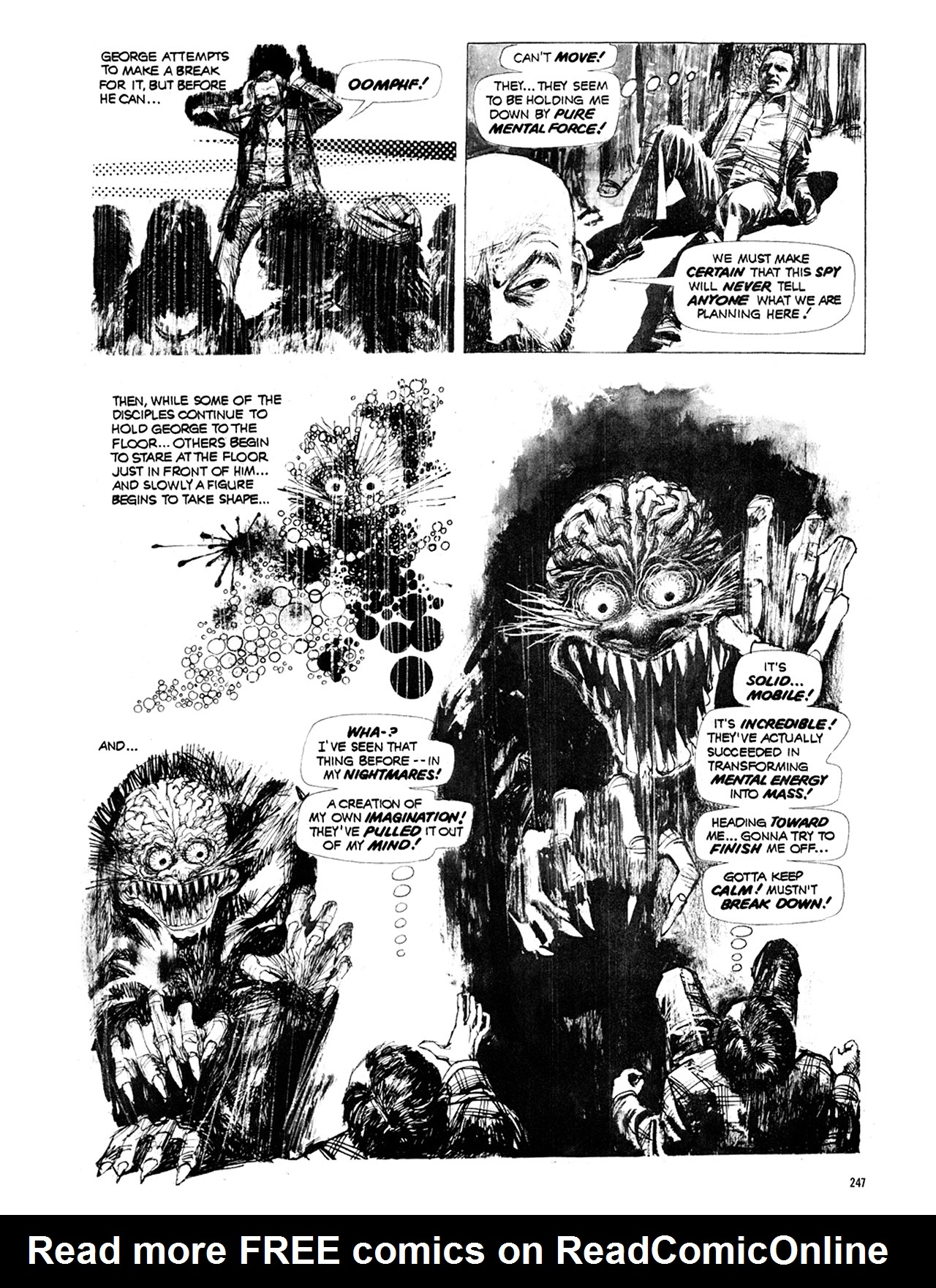 Read online Eerie Archives comic -  Issue # TPB 10 - 248