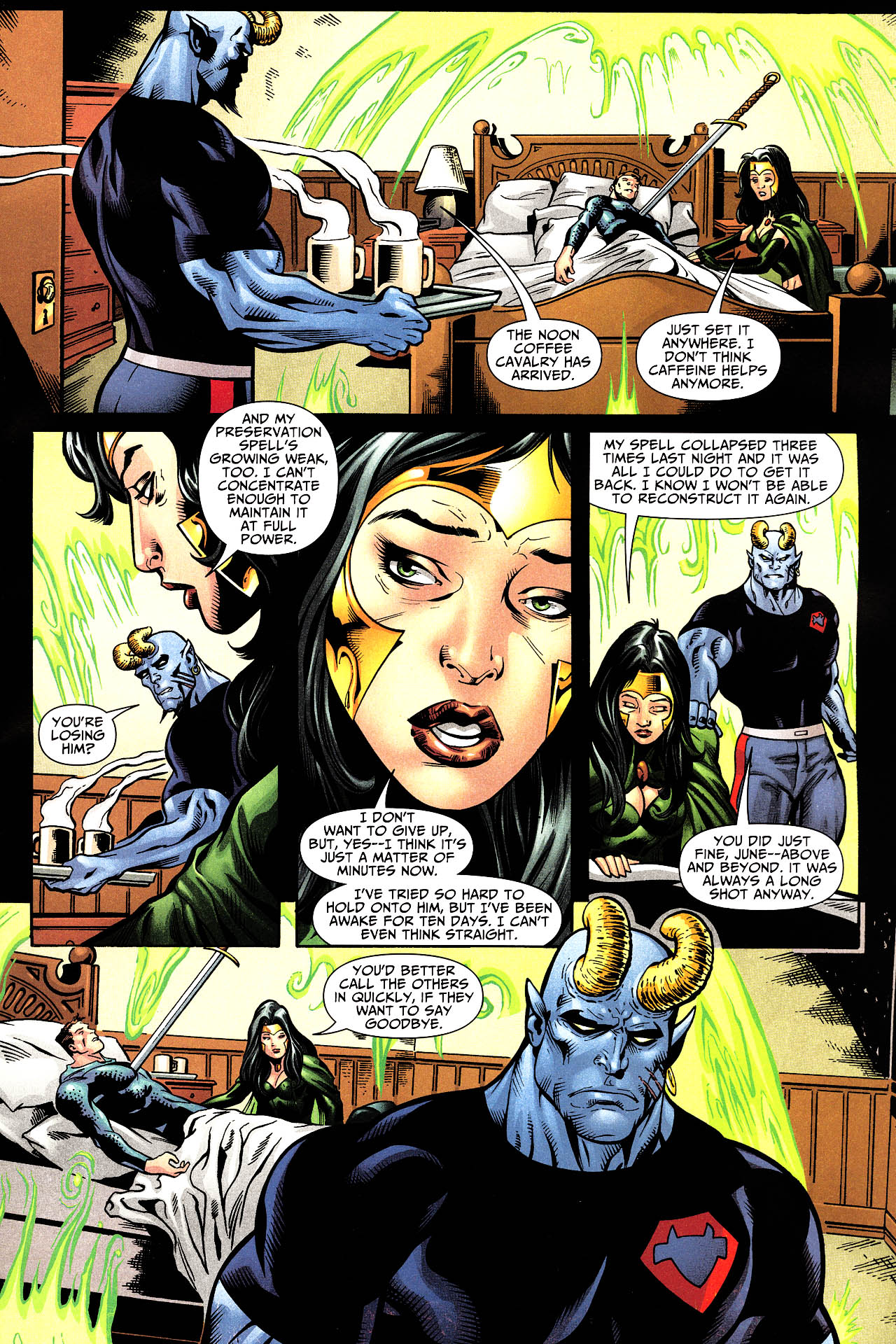 Read online Shadowpact comic -  Issue #12 - 9