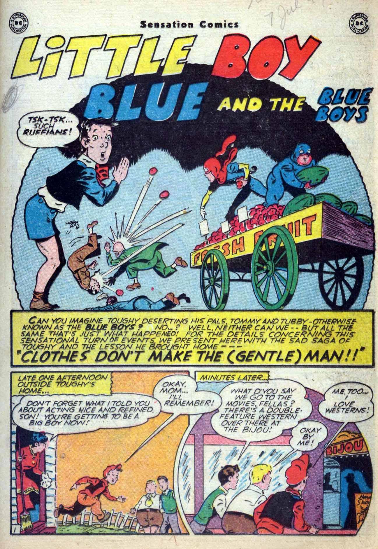 Read online Sensation (Mystery) Comics comic -  Issue #59 - 17