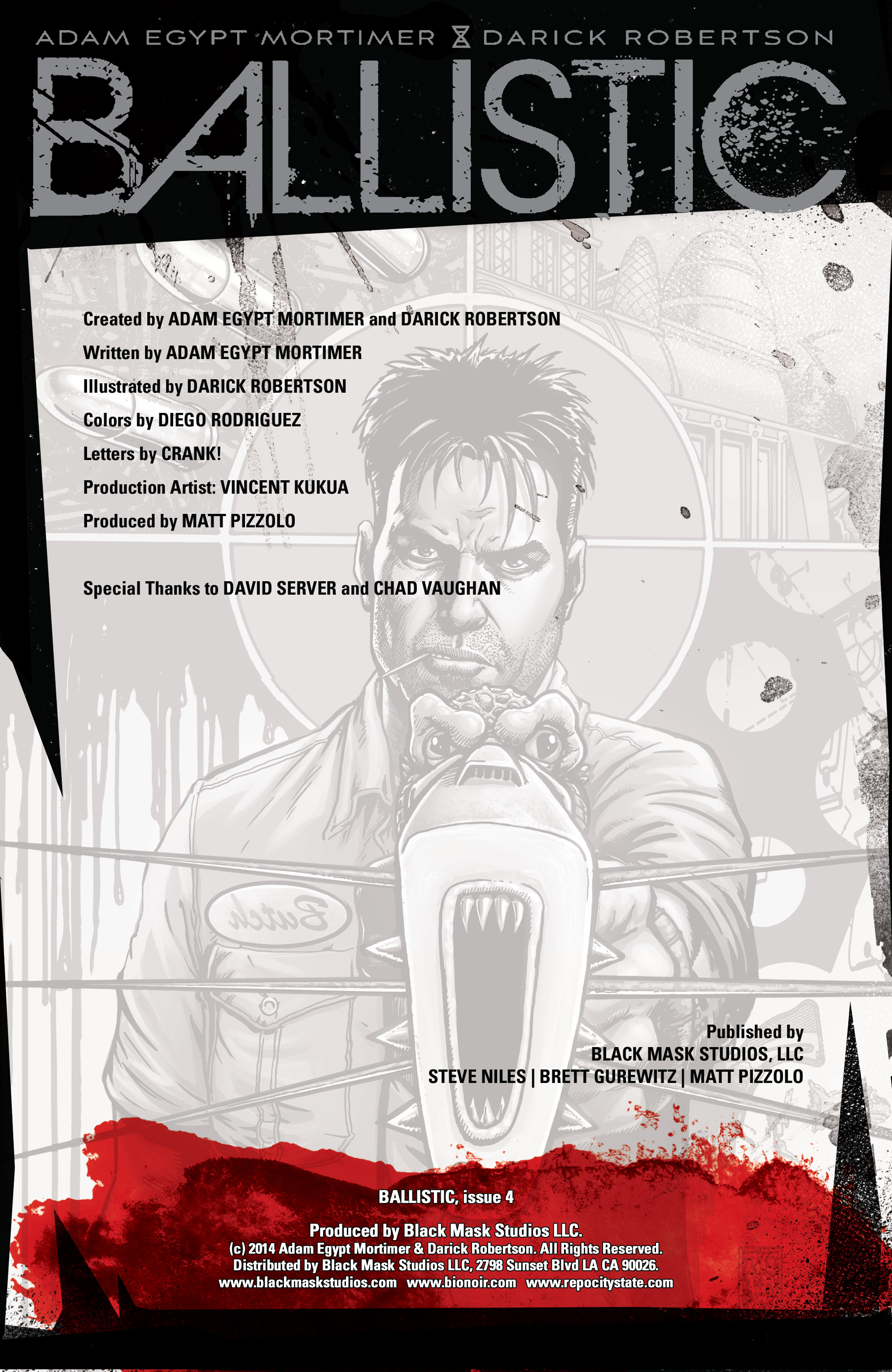 Read online Ballistic (2013) comic -  Issue #4 - 2