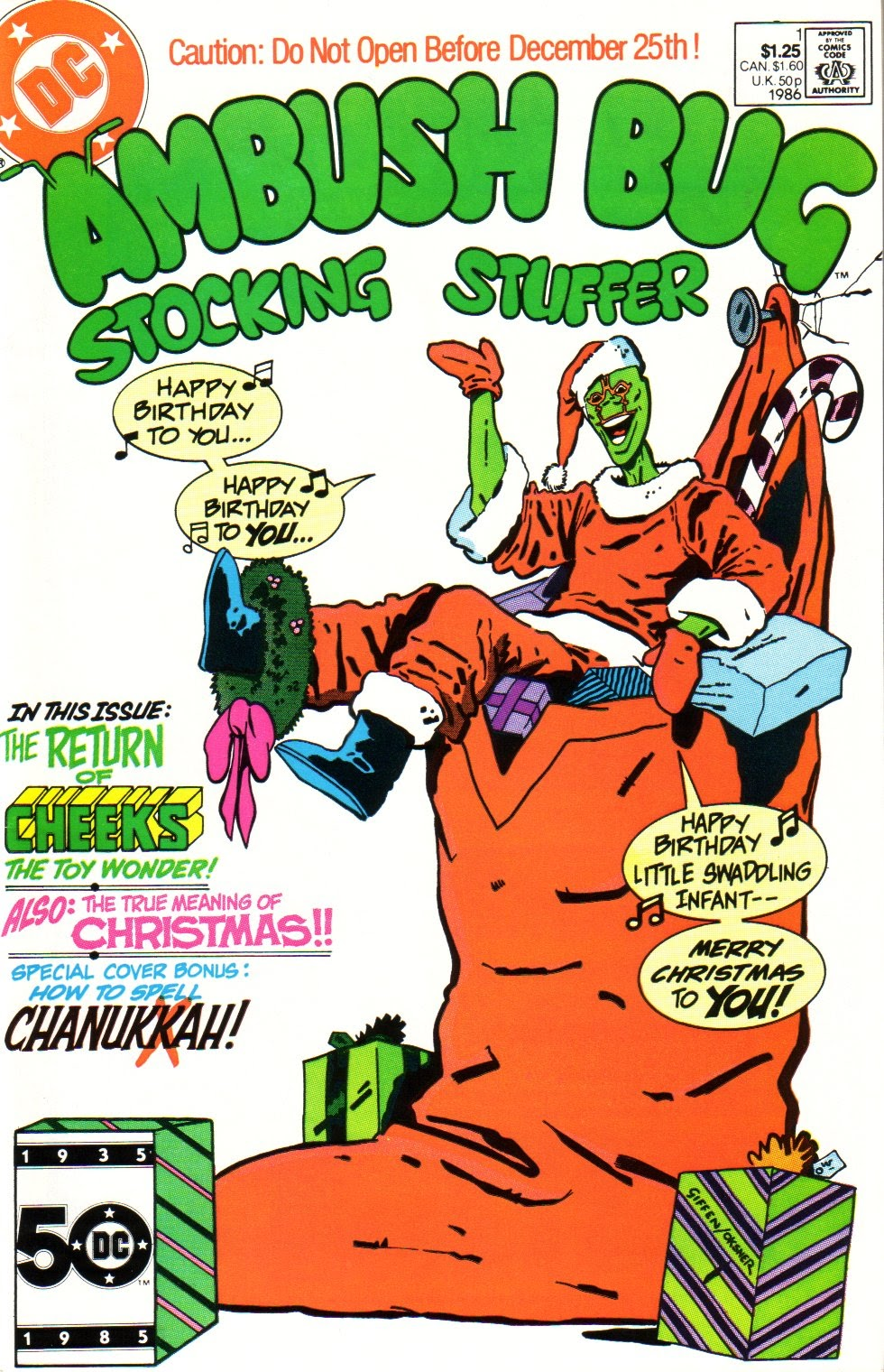 Ambush Bug Stocking Stuffer Full Page 1