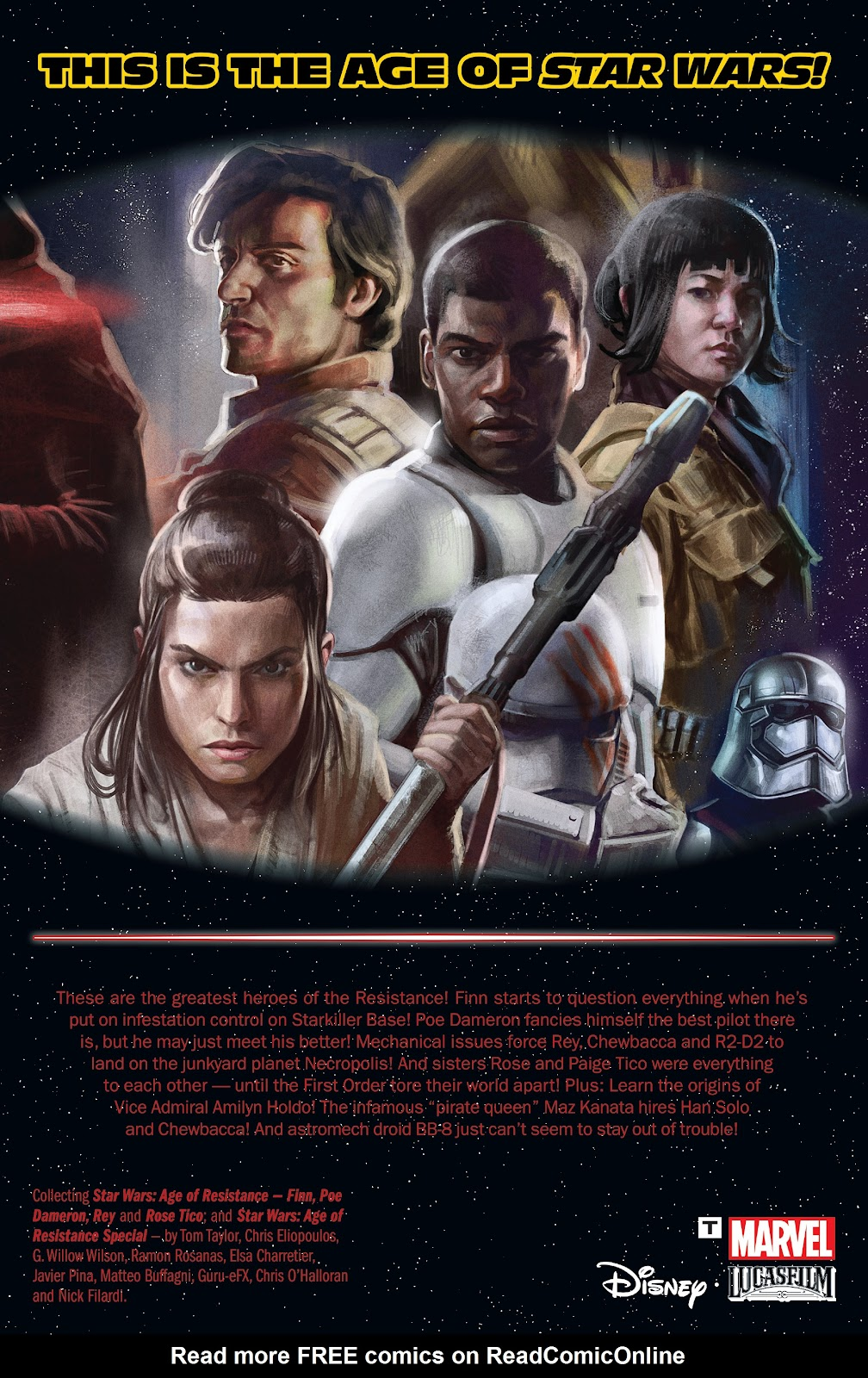 Read online Star Wars: Age of Republic: Heroes comic -  Issue # TPB - 131