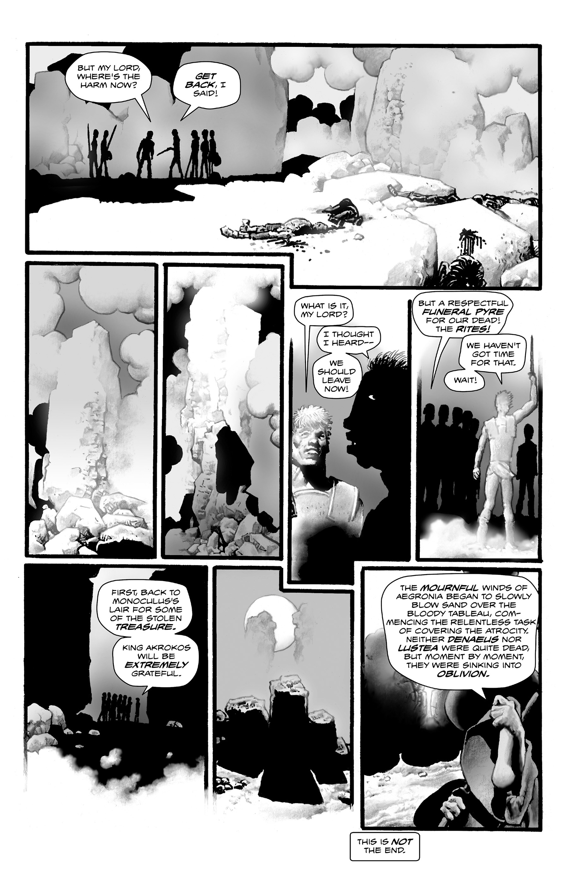 Read online Shadows on the Grave comic -  Issue #4 - 34