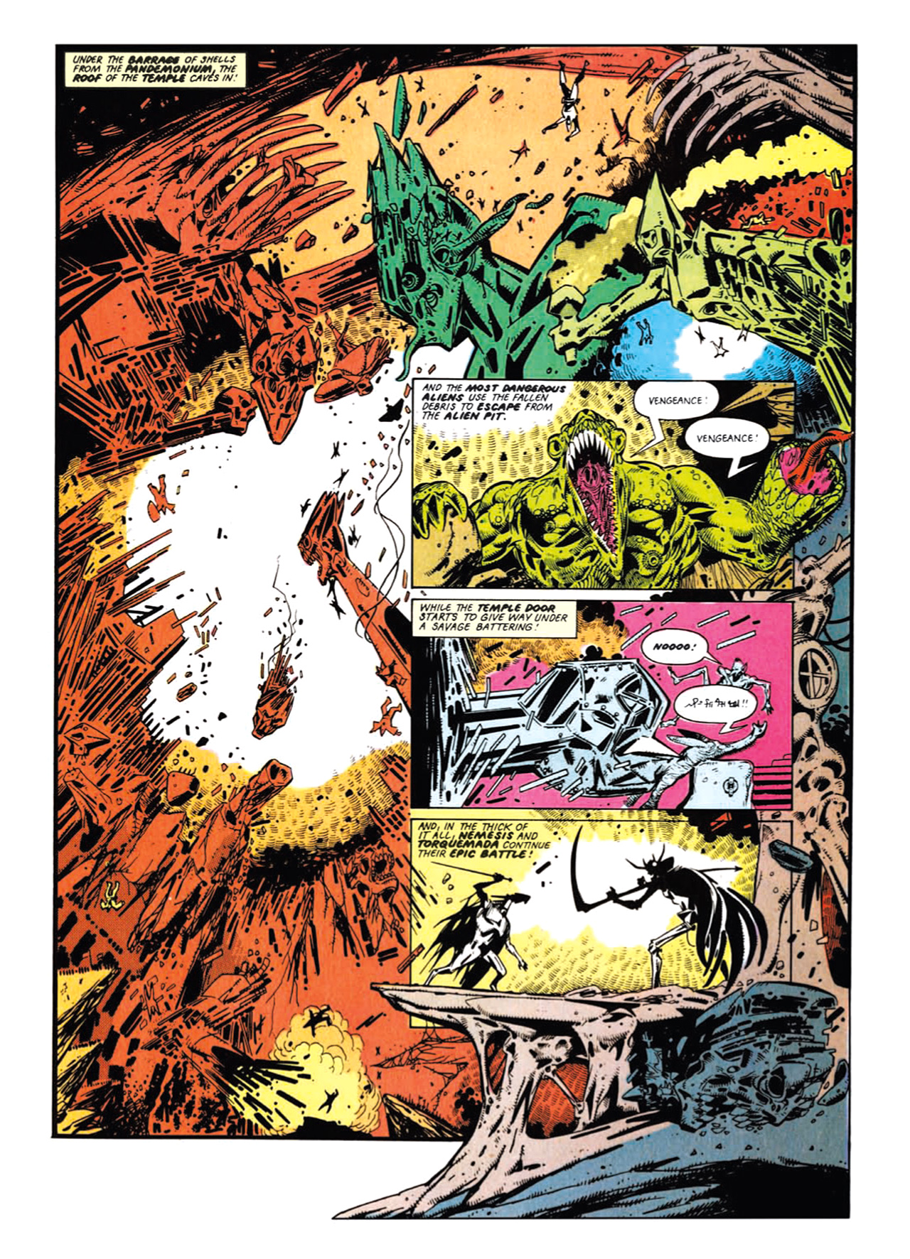 Read online Nemesis The Warlock comic -  Issue # TPB Deviant Edition - 84