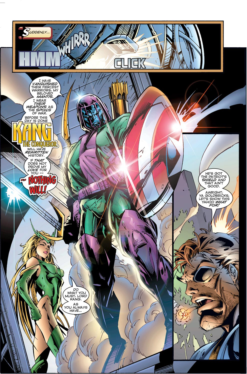 Read online Avengers (1996) comic -  Issue #3 - 4