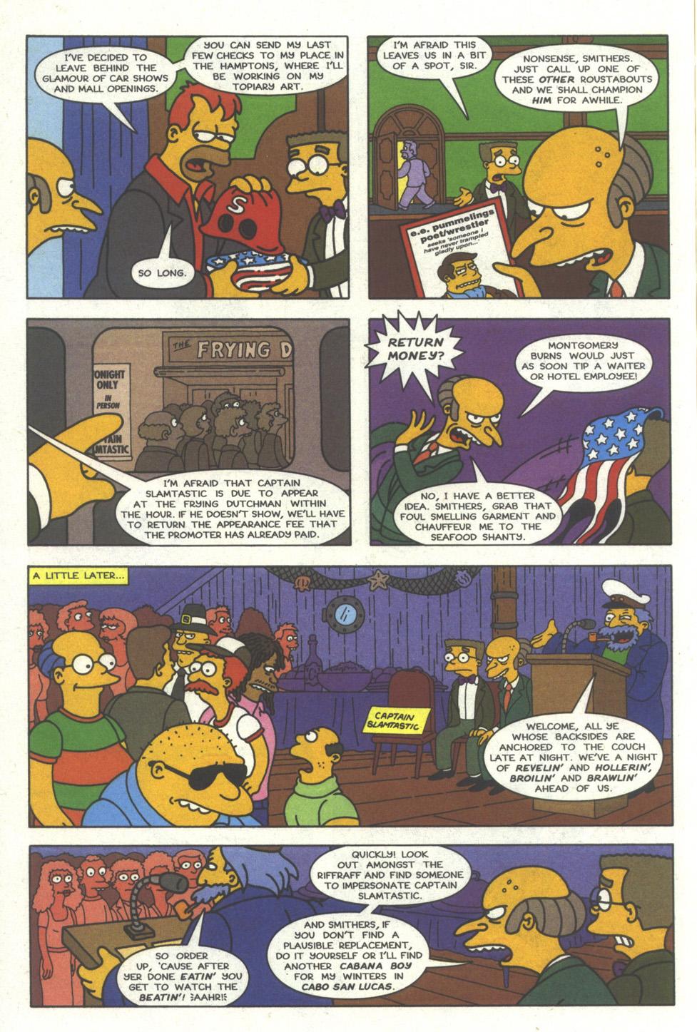Read online Simpsons Comics comic -  Issue #29 - 7