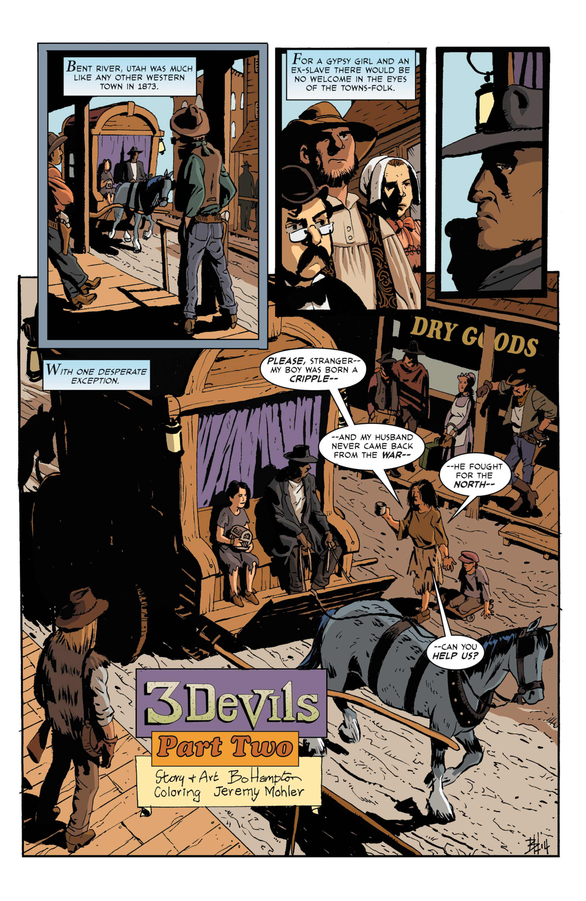 Read online 3 Devils comic -  Issue #2 - 3