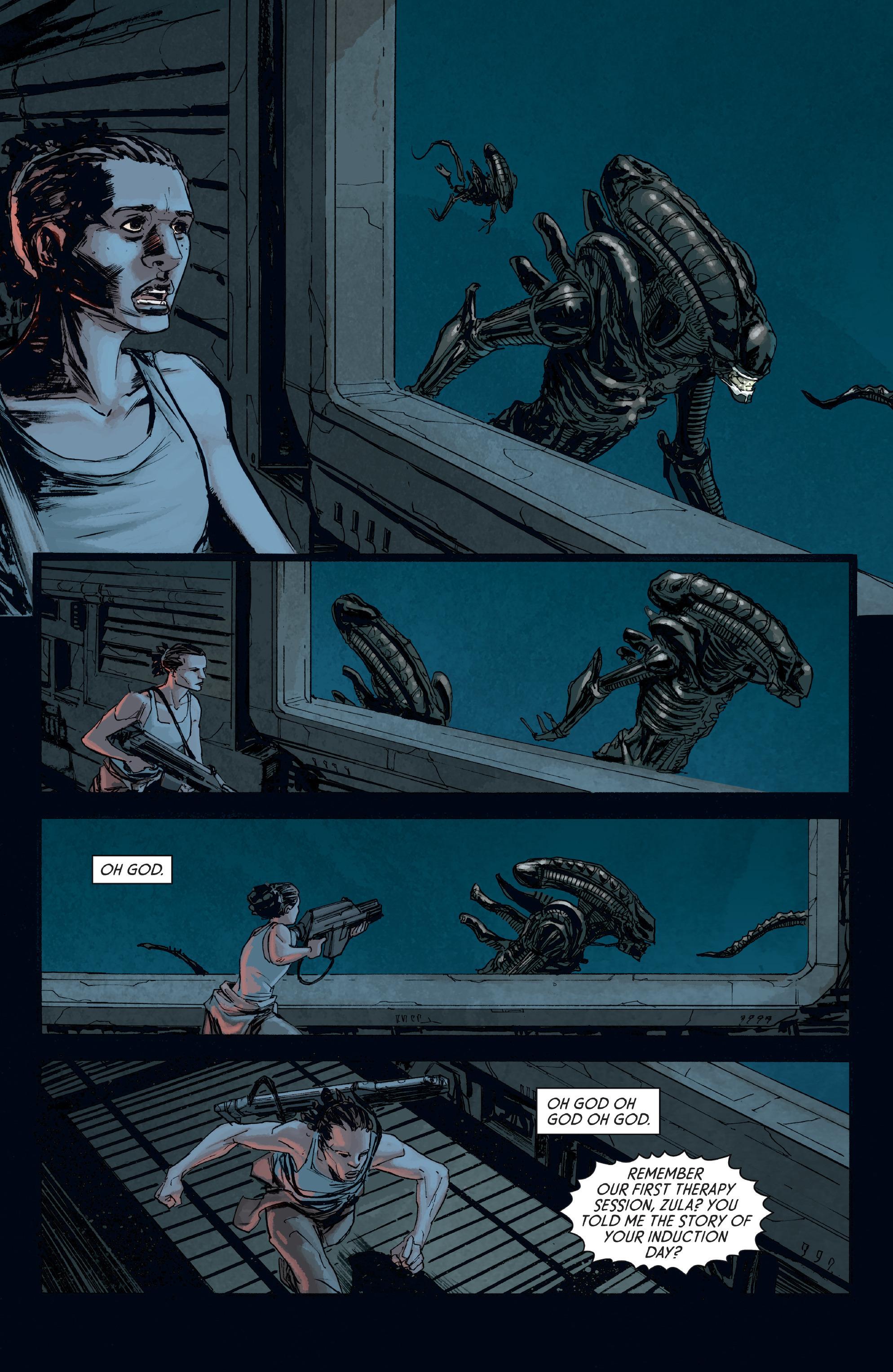 Read online Aliens: Defiance comic -  Issue #8 - 12