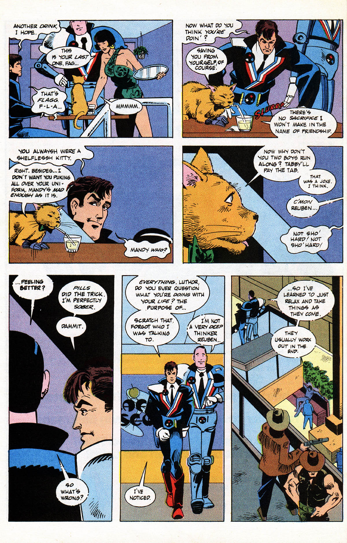 Read online American Flagg! comic -  Issue #38 - 16