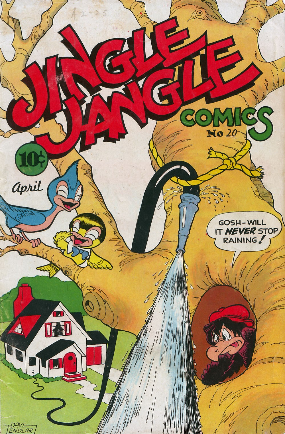 Jingle Jangle Comics 20 Page 1