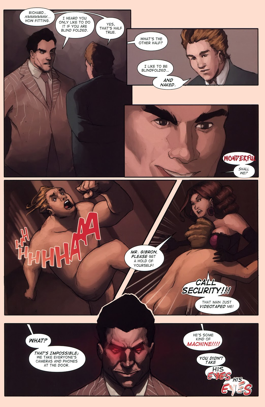 Read online Vescell comic -  Issue #1 - 15