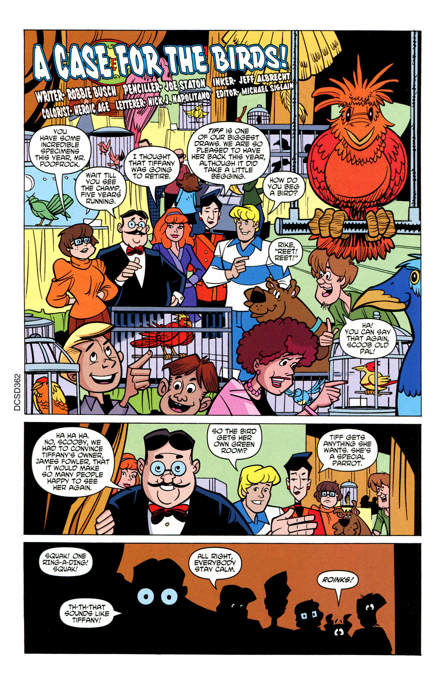 Read online Scooby-Doo: Where Are You? comic -  Issue #16 - 21