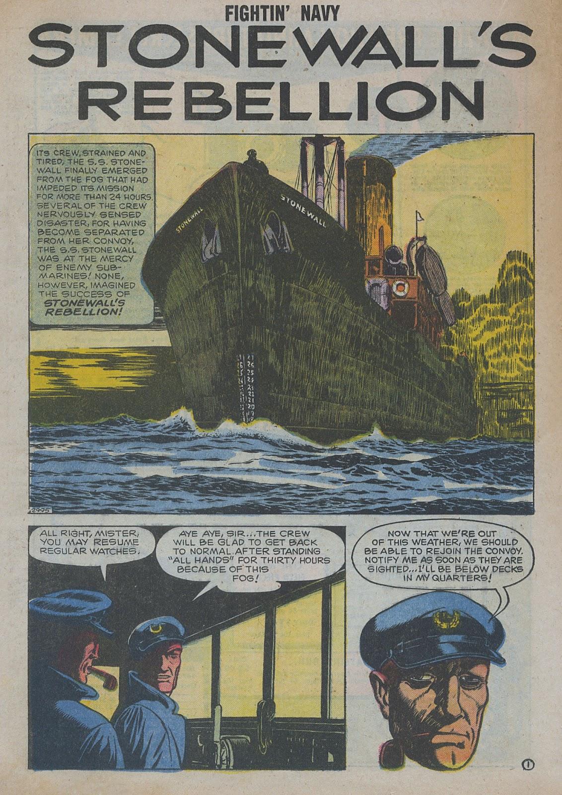 Read online Fightin' Navy comic -  Issue #82 - 22