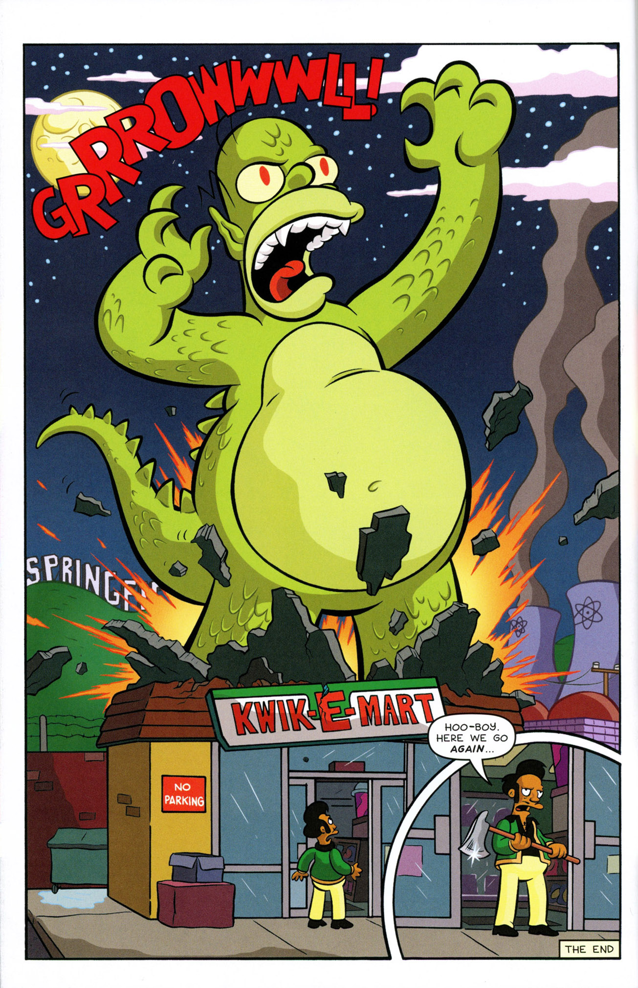 Read online Treehouse of Horror comic -  Issue #21 - 14