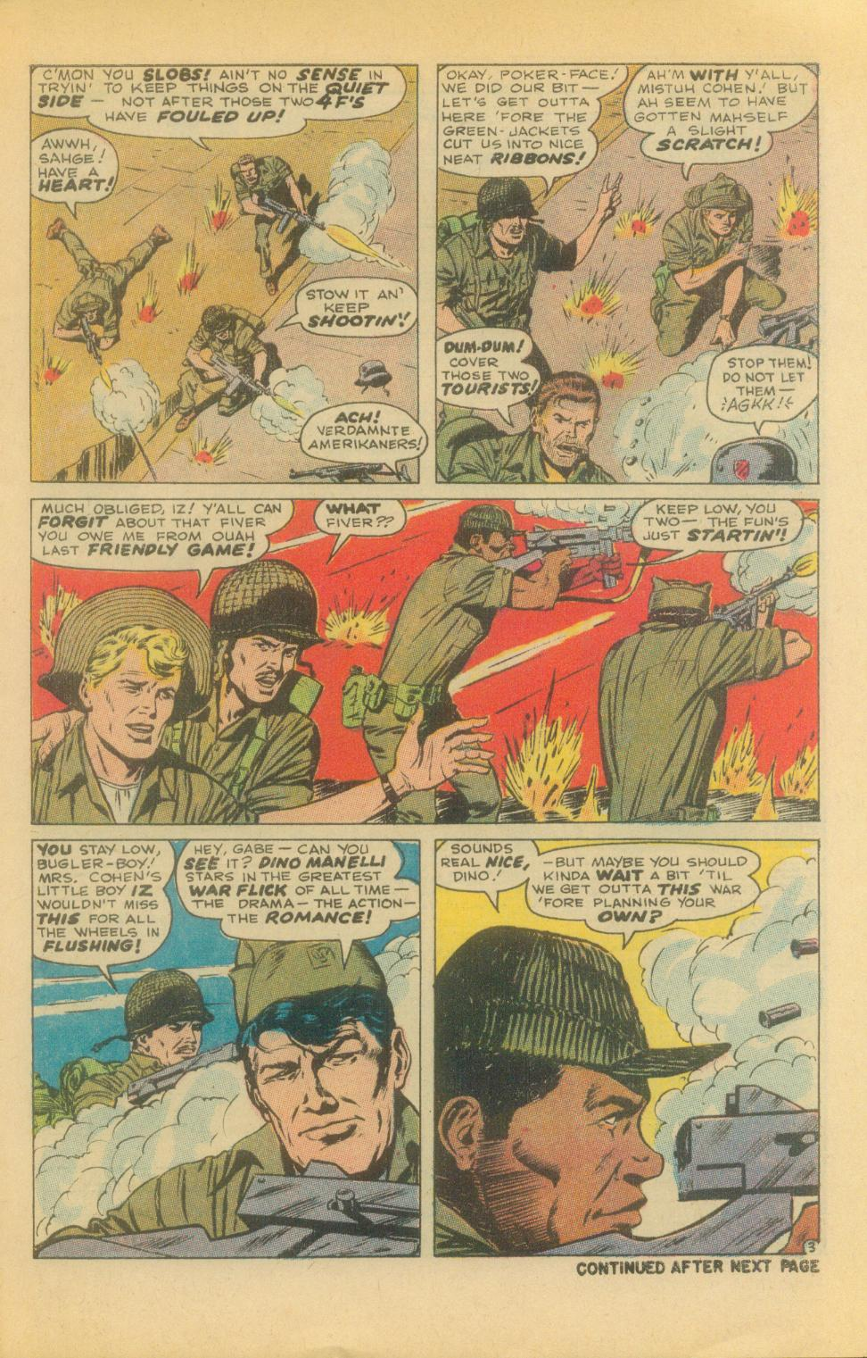 Read online Sgt. Fury comic -  Issue #86 - 5