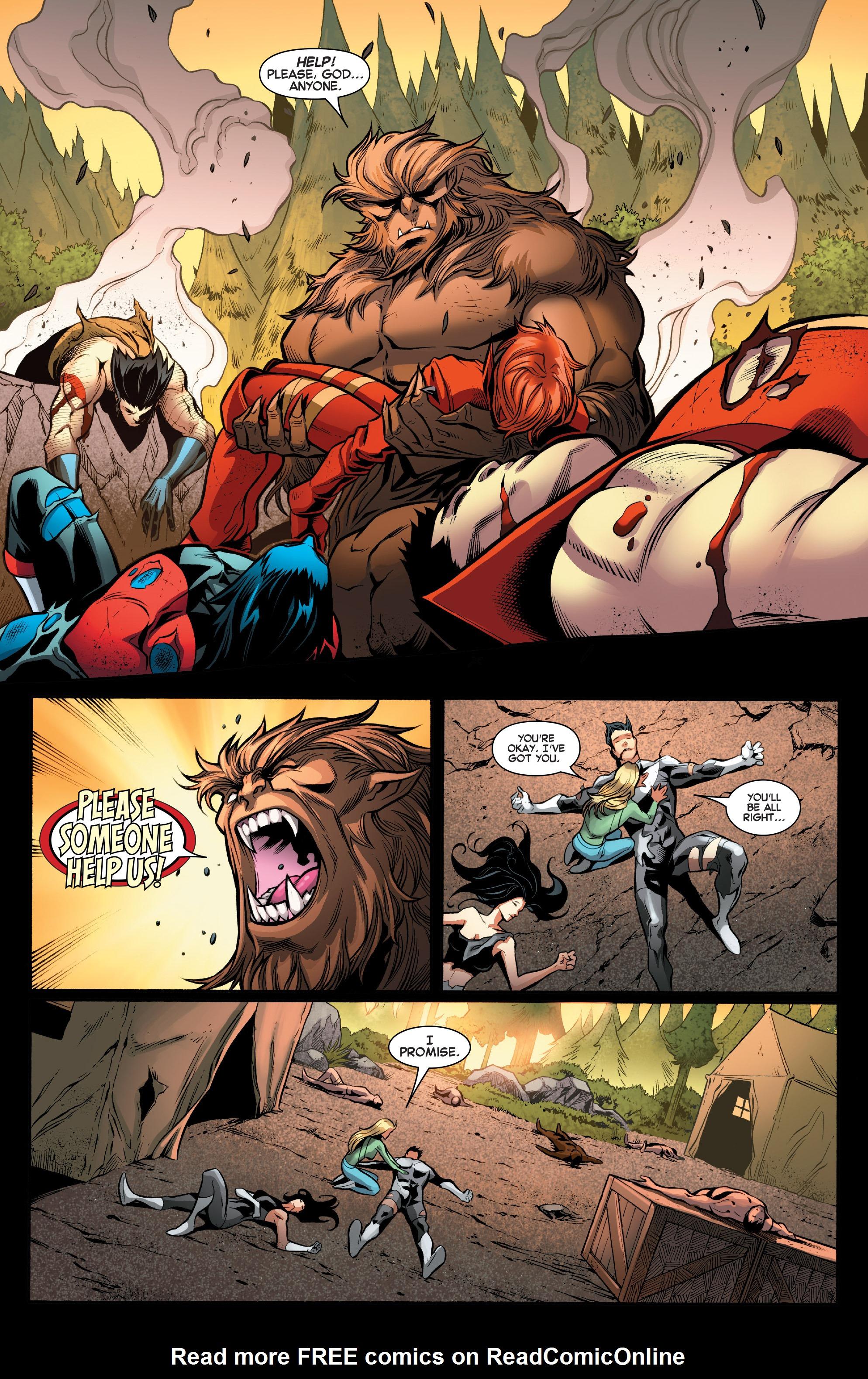 Read online Amazing X-Men (2014) comic -  Issue #12 - 19