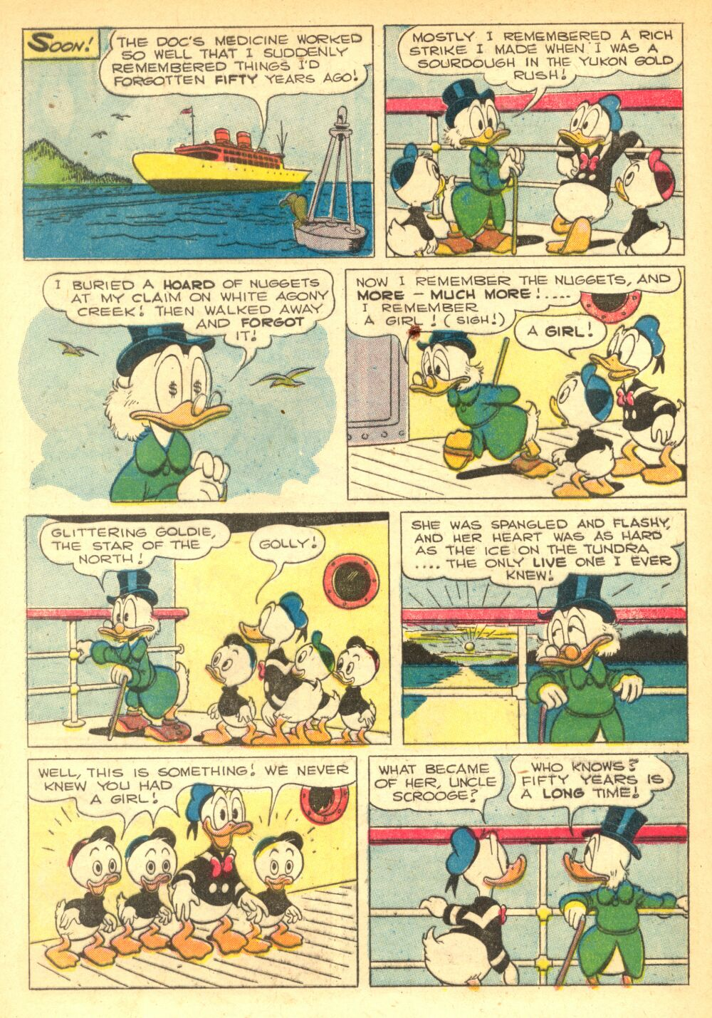 Read online Uncle Scrooge (1953) comic -  Issue #2 - 8