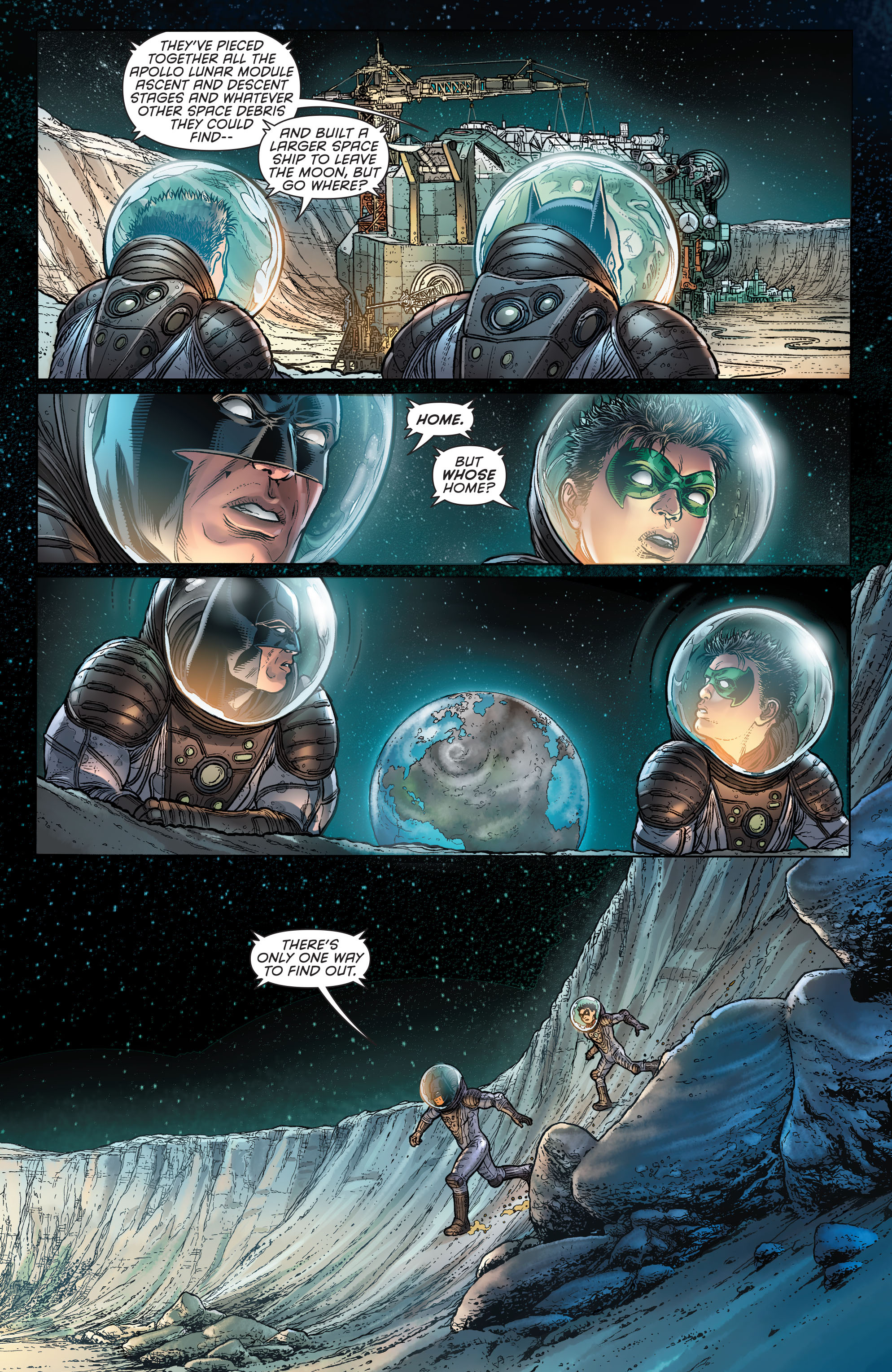 Read online Batman and Robin (2011) comic -  Issue # Annual 3 - 19