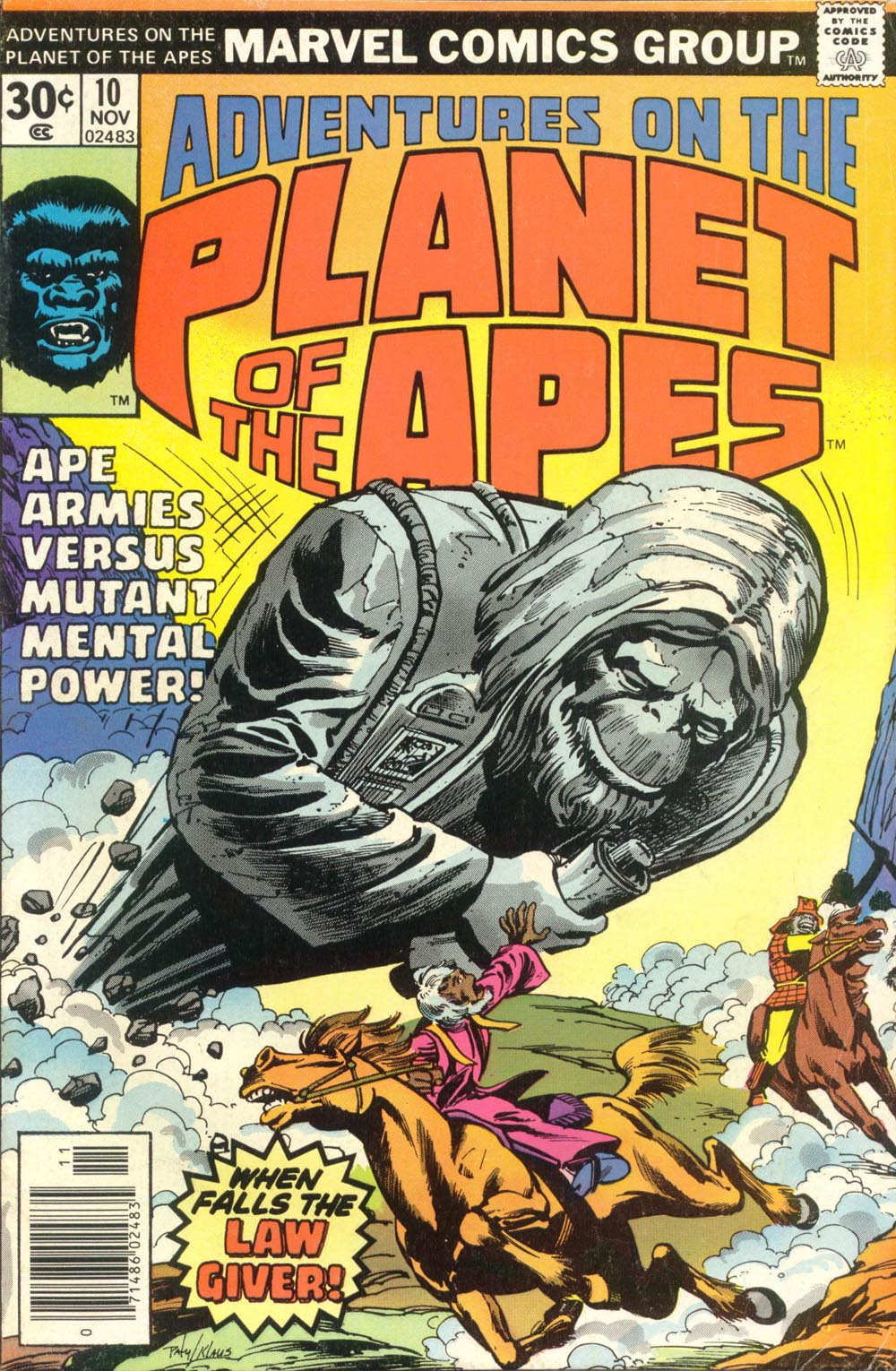 Adventures on the Planet of the Apes issue 10 - Page 1