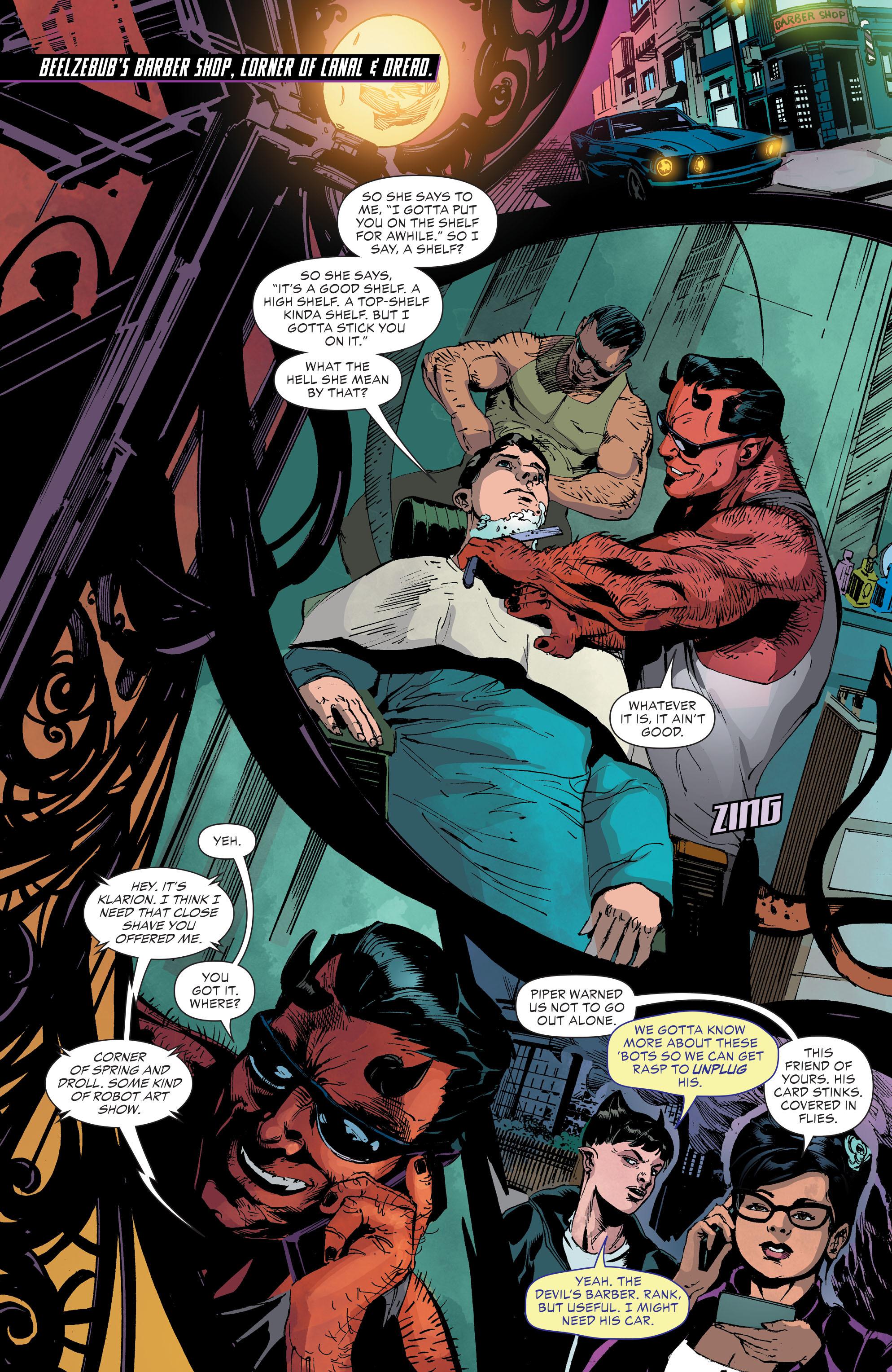 Read online Klarion comic -  Issue #3 - 10