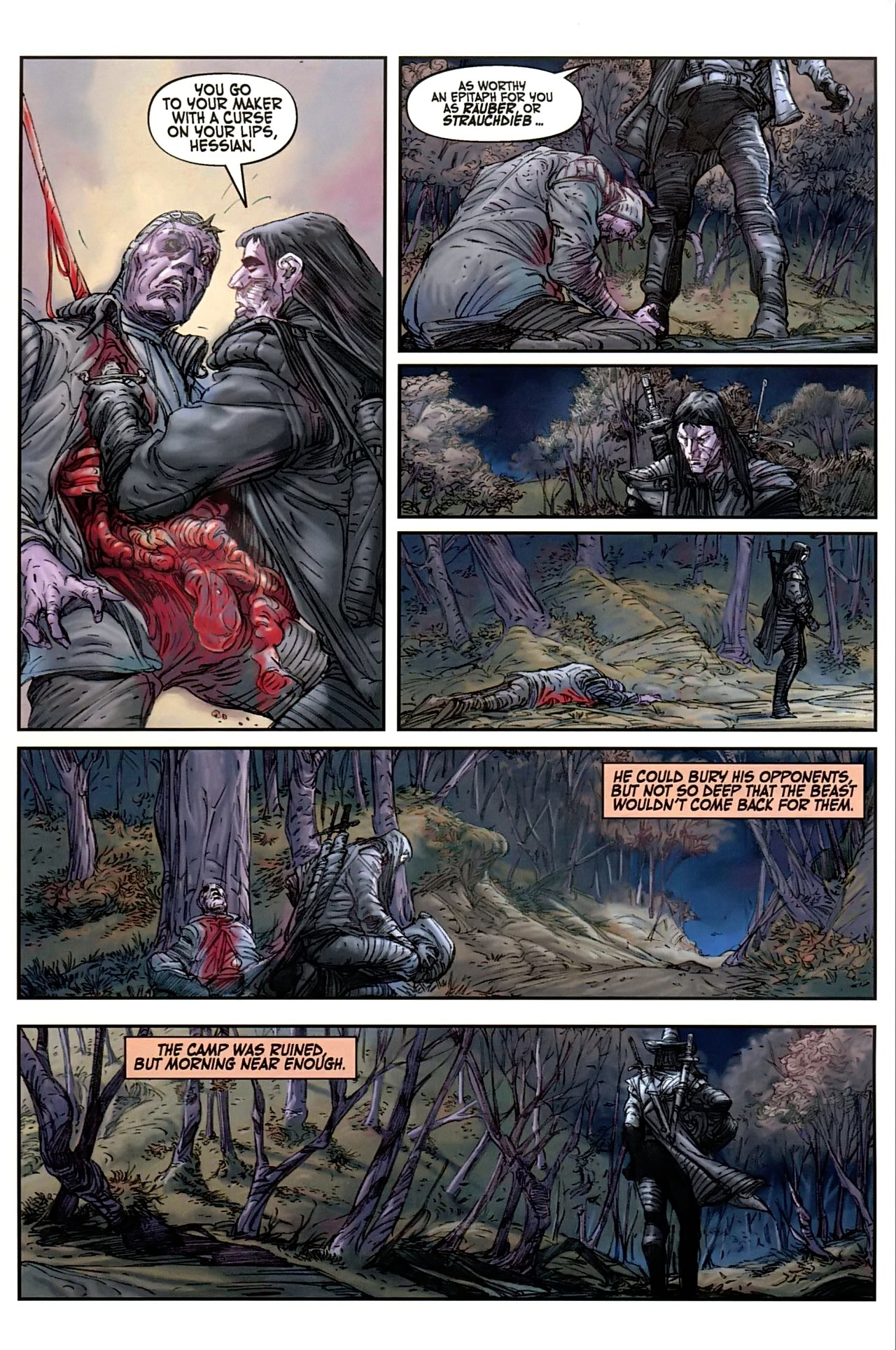 Read online Solomon Kane comic -  Issue #1 - 9
