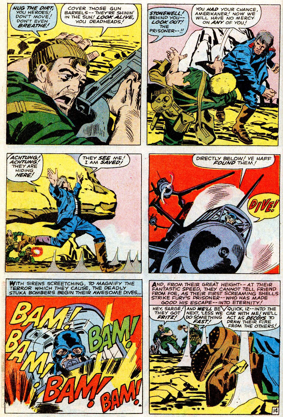 Read online Sgt. Fury comic -  Issue # _Special 5 - 18