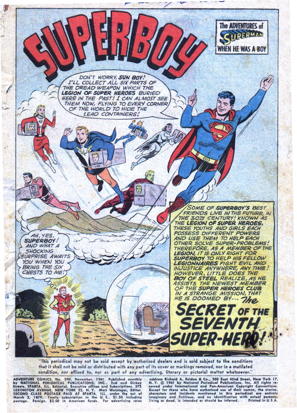 Read online Adventure Comics (1938) comic -  Issue #290 - 18