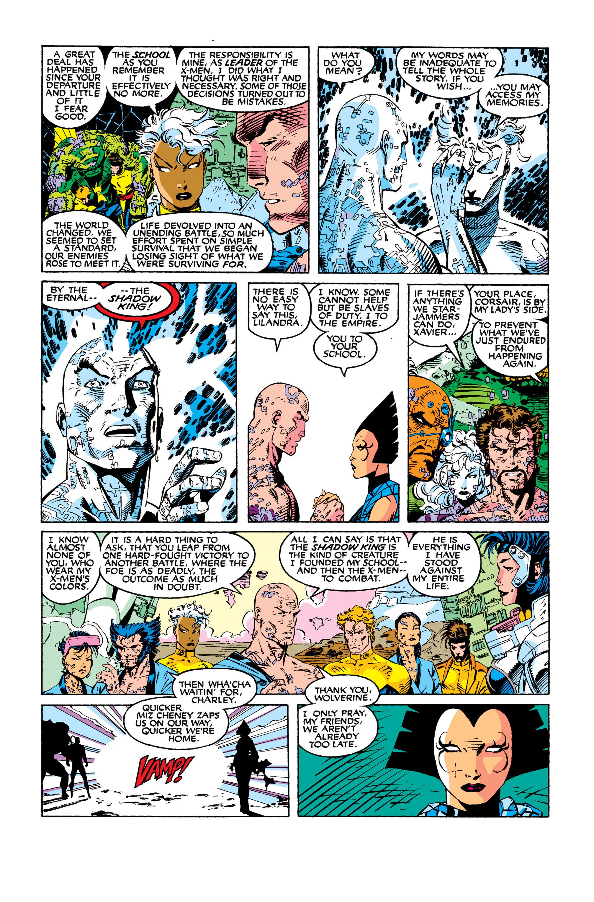 Read online Uncanny X-Men (1963) comic -  Issue #277 - 22