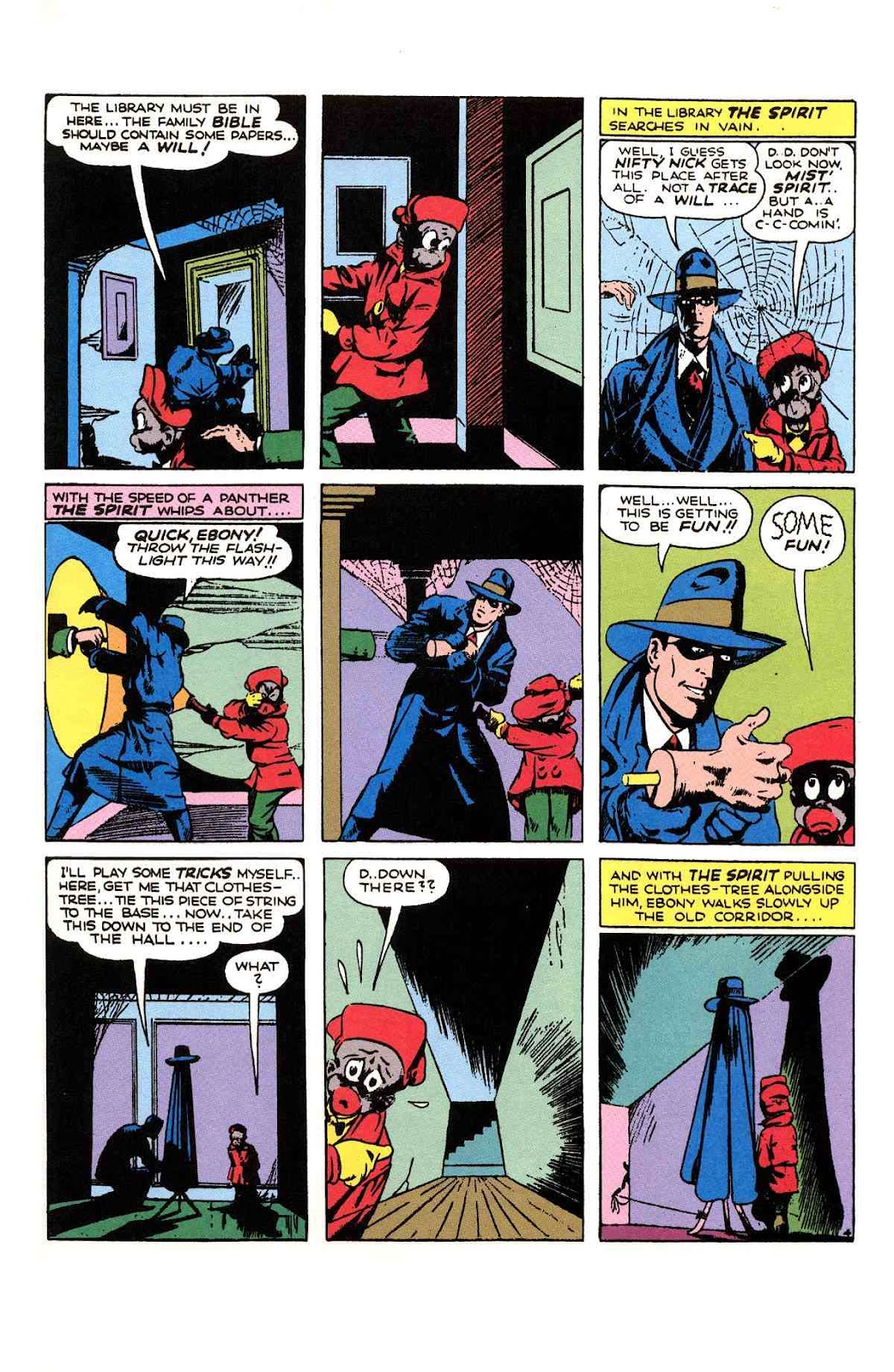 Read online Will Eisner's The Spirit Archives comic -  Issue # TPB 1 (Part 2) - 94