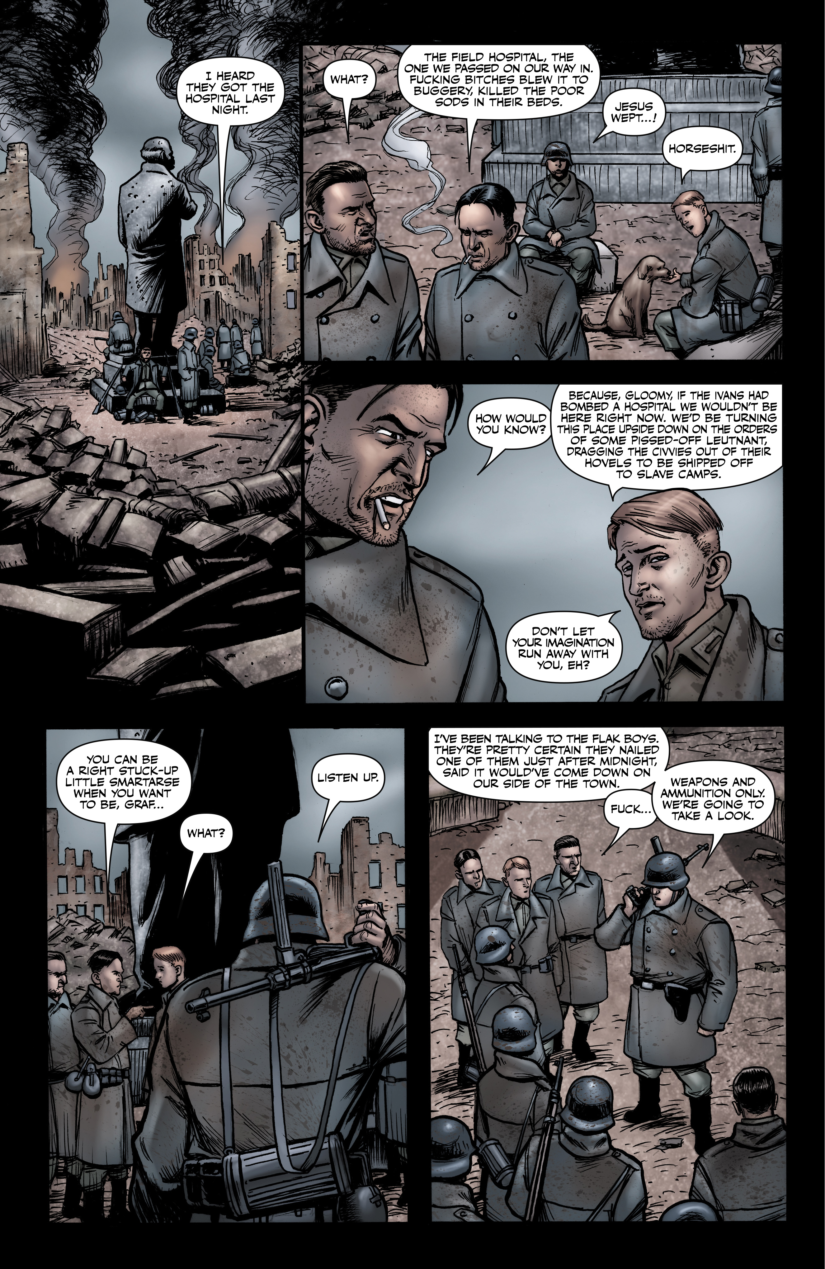 Read online Battlefields: Night Witches comic -  Issue # TPB - 38