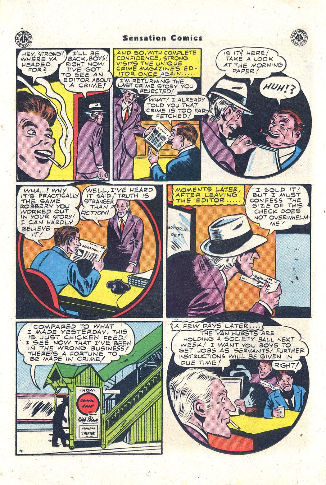 Read online Sensation (Mystery) Comics comic -  Issue #43 - 37