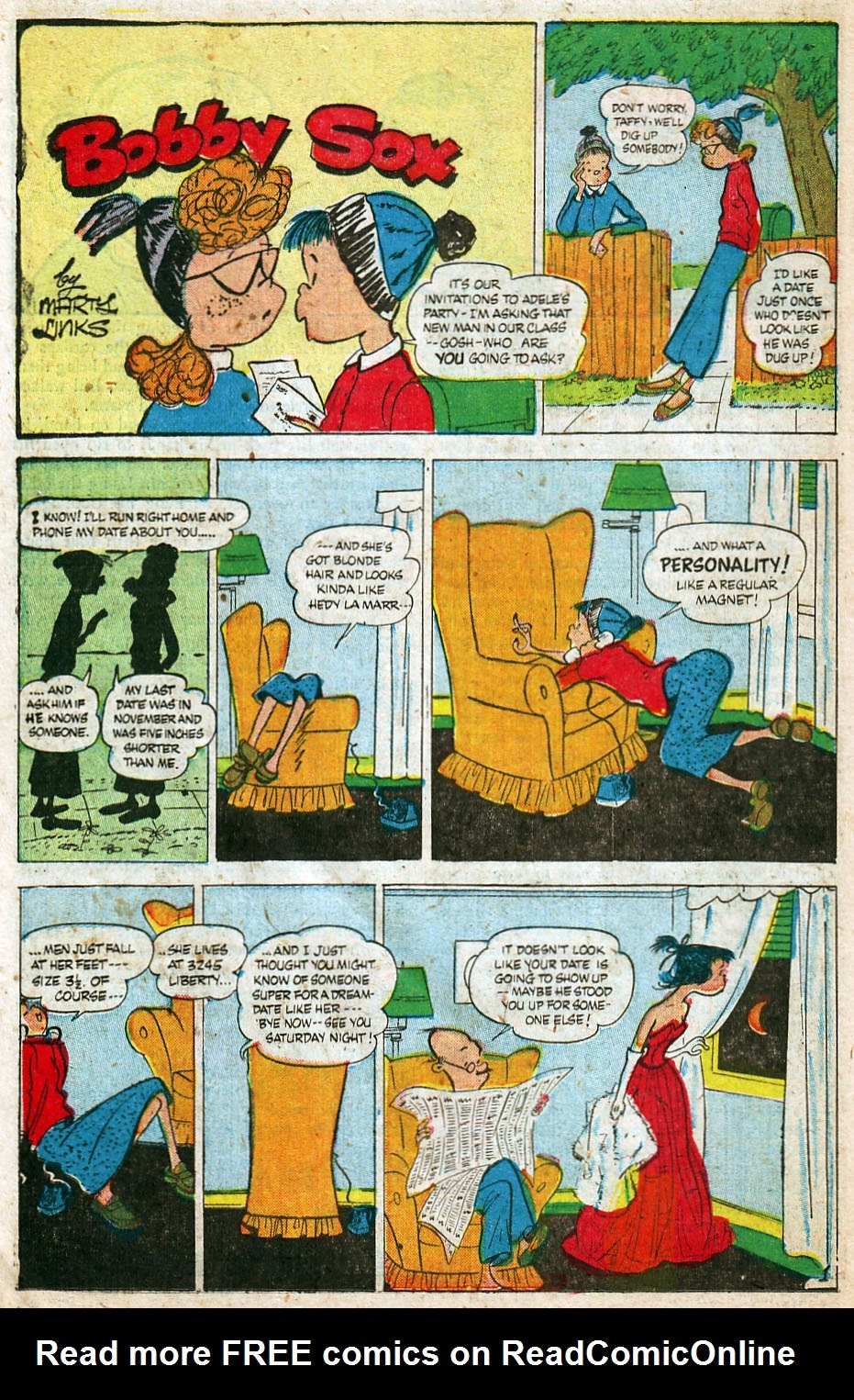 Read online Famous Funnies comic -  Issue #192 - 30