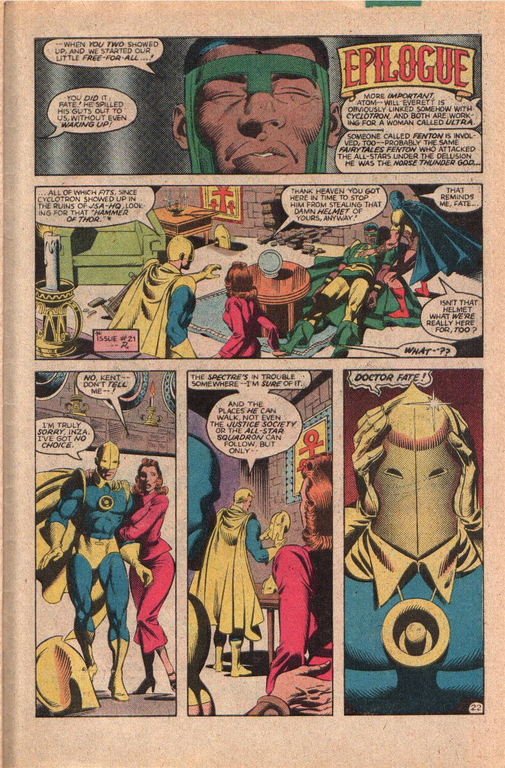 Read online All-Star Squadron comic -  Issue #23 - 30