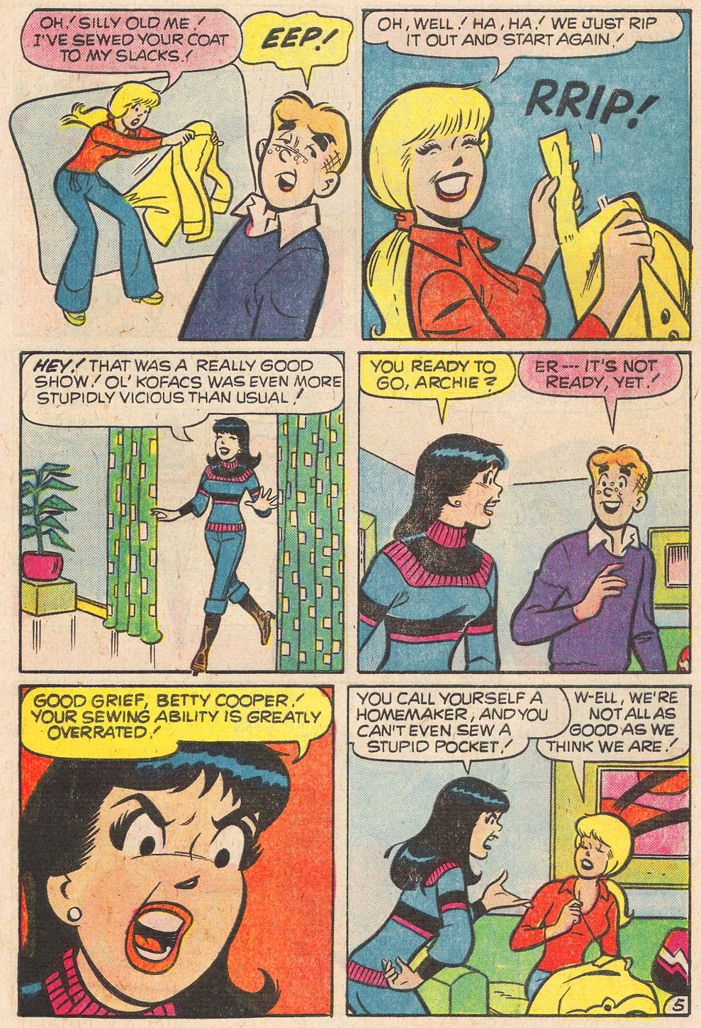 Read online Archie's Girls Betty and Veronica comic -  Issue #248 - 17