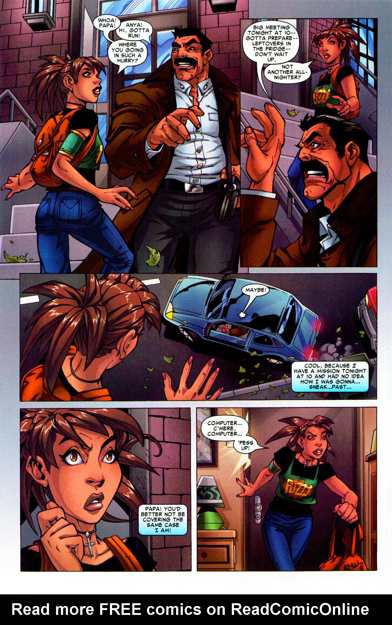 Read online Araña: Heart of the Spider comic -  Issue #3 - 10