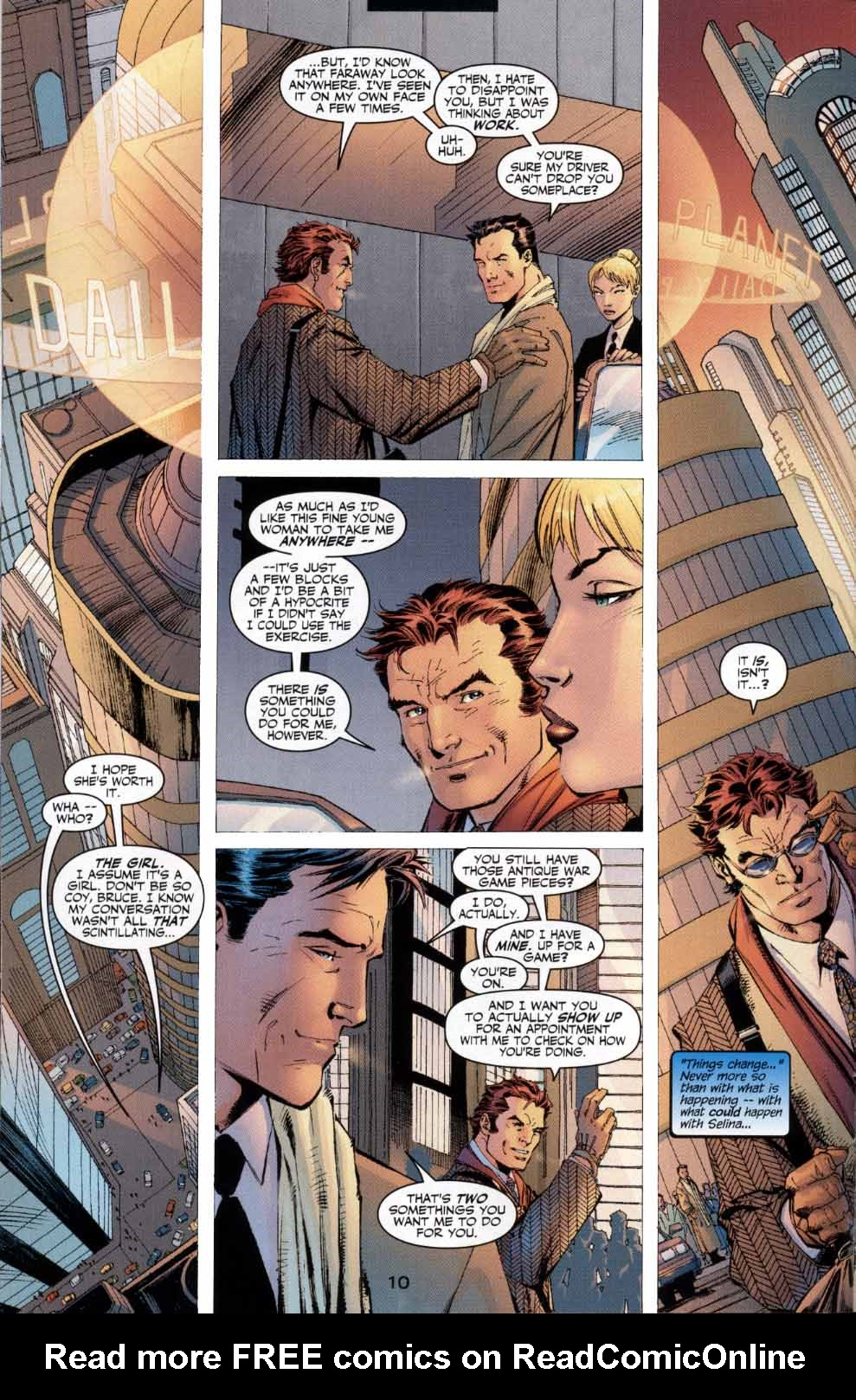 Read online Batman: Hush comic -  Issue #4 - 10