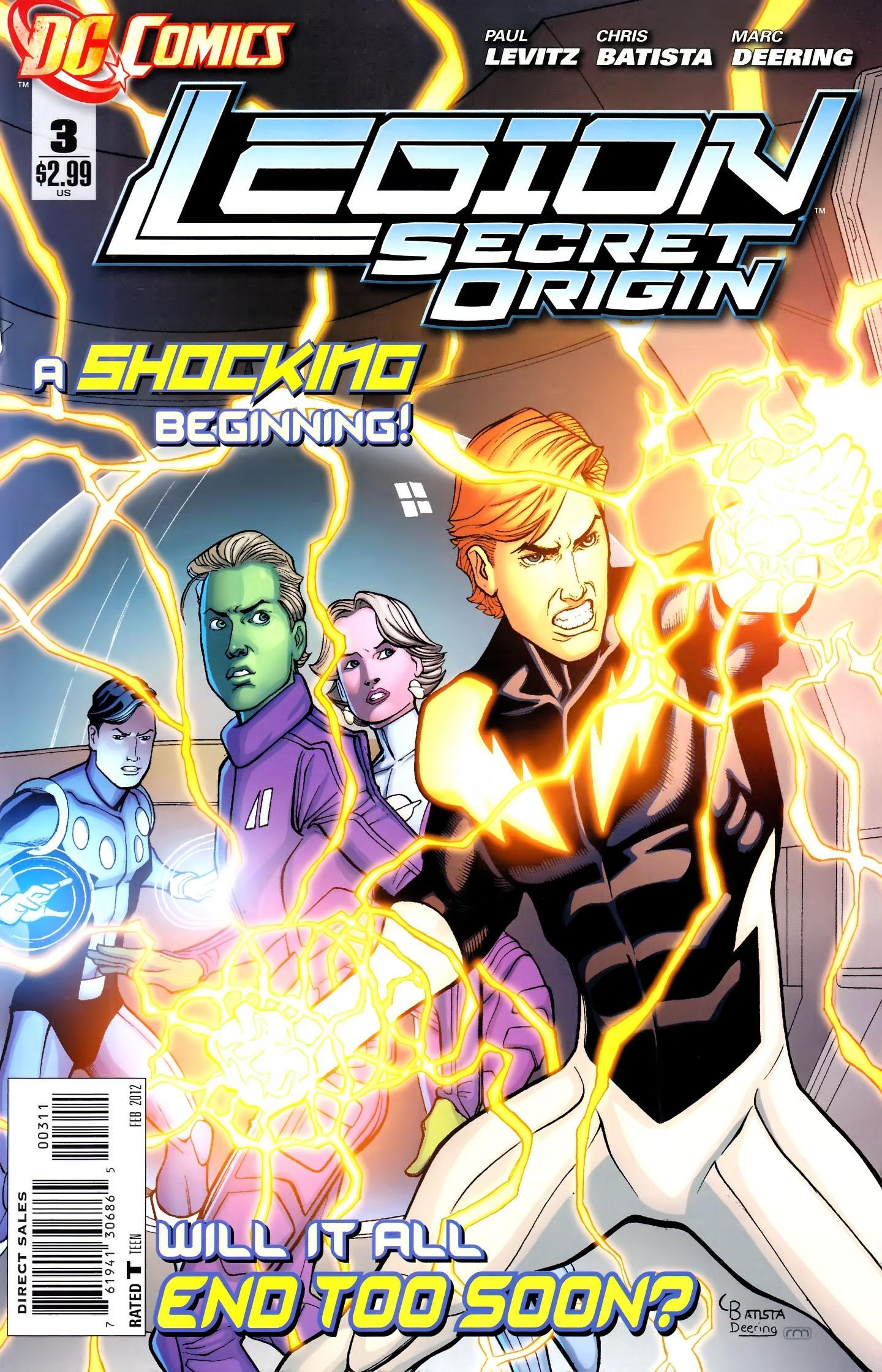 Legion: Secret Origin issue 3 - Page 1