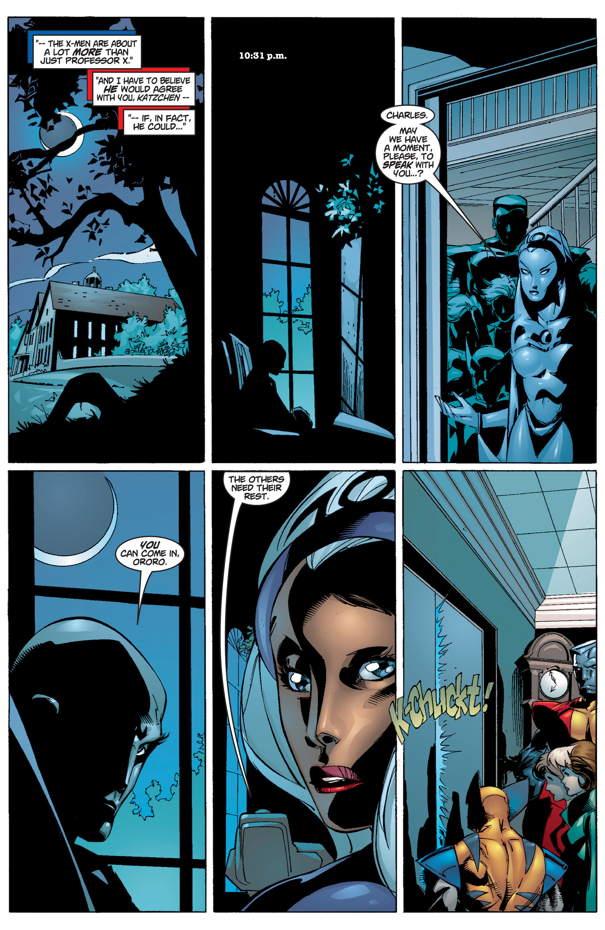 Read online Uncanny X-Men (1963) comic -  Issue #372 - 14